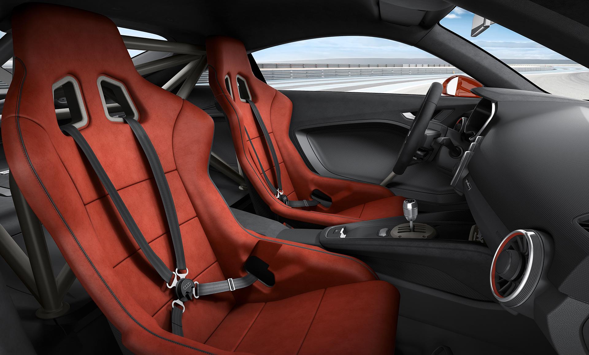 Audi TT clubsport turbo concept - inside / intérieur
