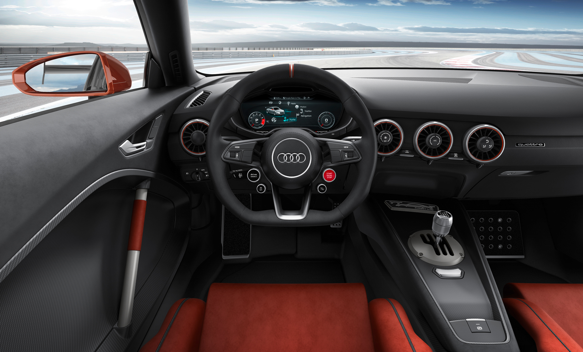 audi tt clubsport turbo concept l audi tt qui met le turbo. Black Bedroom Furniture Sets. Home Design Ideas