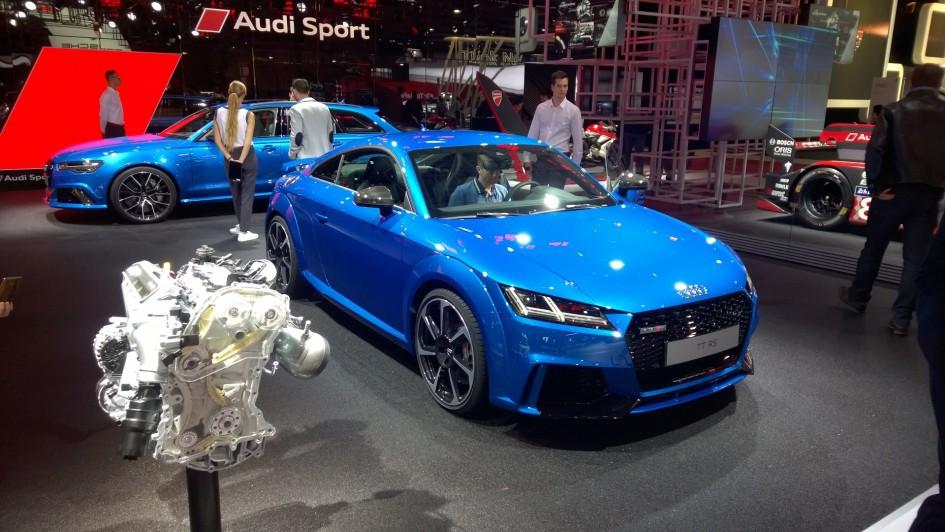 Audi TTRS - front / avant - 2016 - Mondial Auto - photo ELJ DM