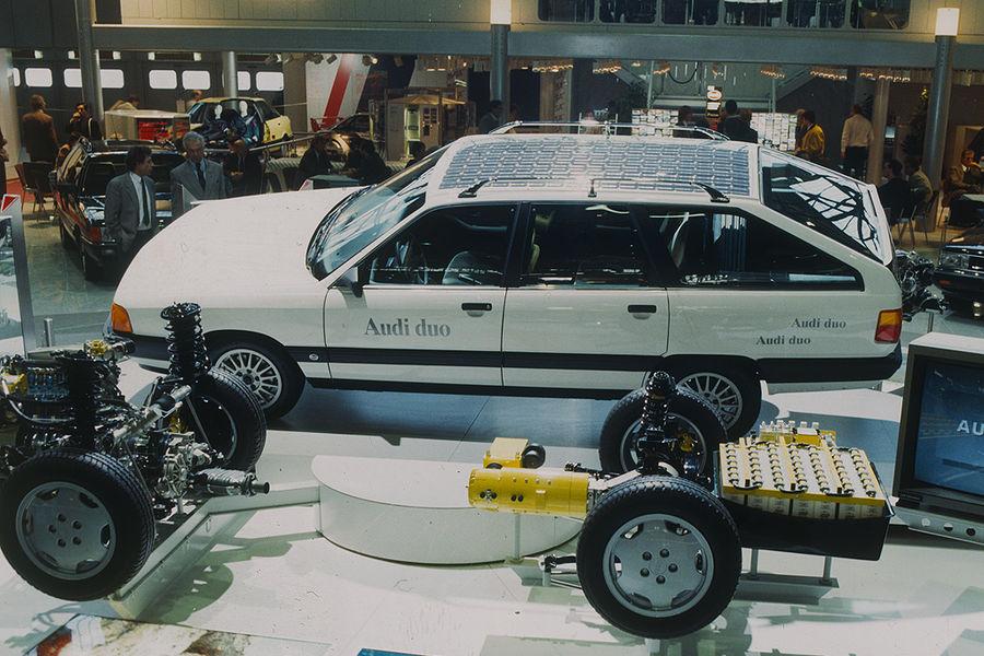 Audi hybridsystem Duo - Motorshow 1990s
