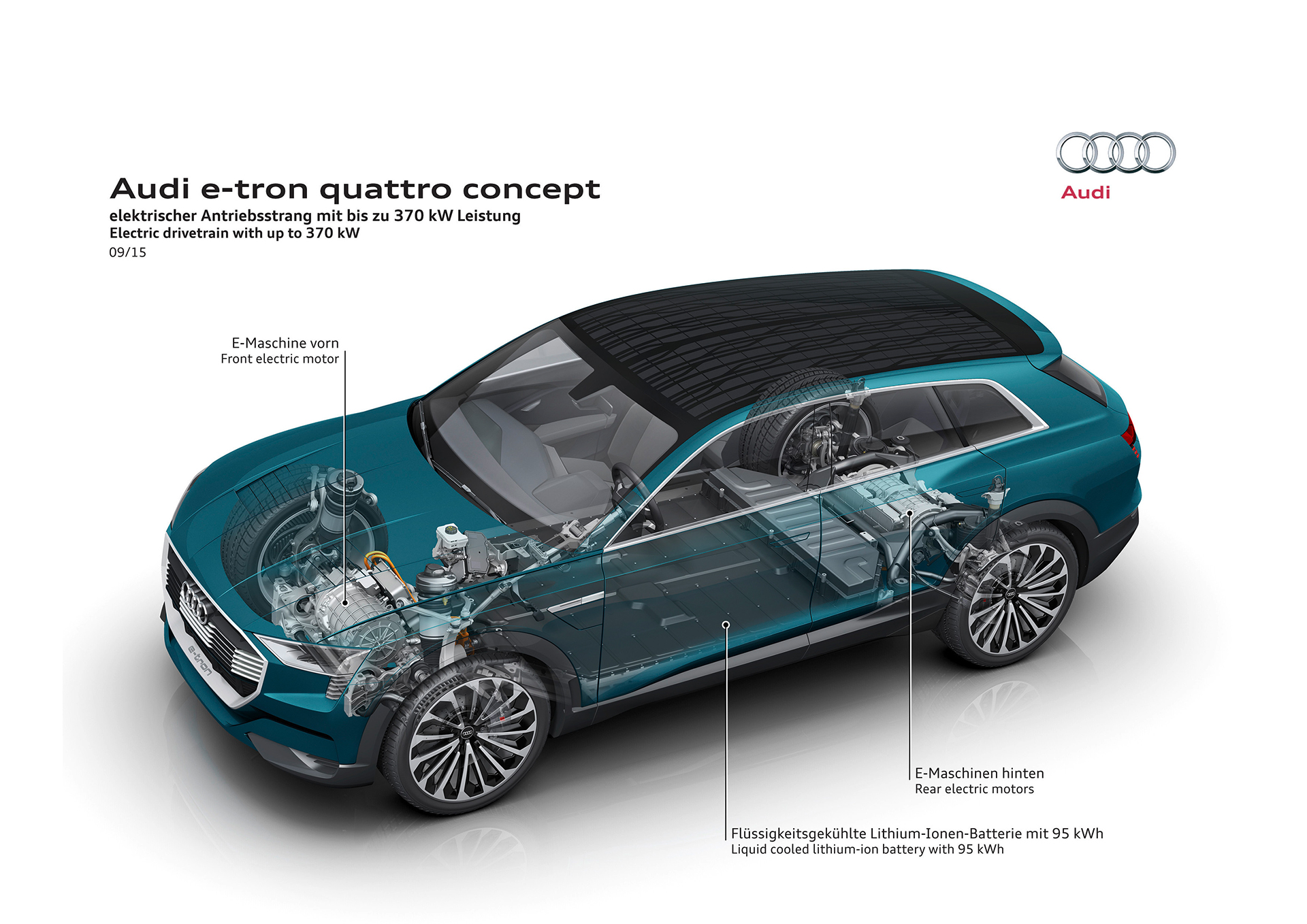 Audi e-tron quattro concept - 2016 - drivetrain