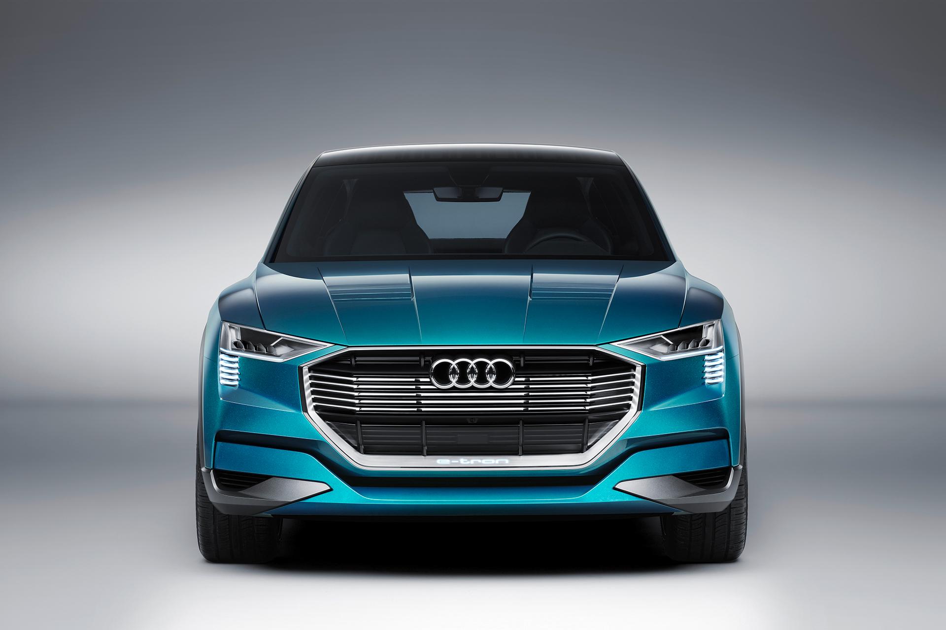 Audi e-tron quattro concept - 2016 - front / avant