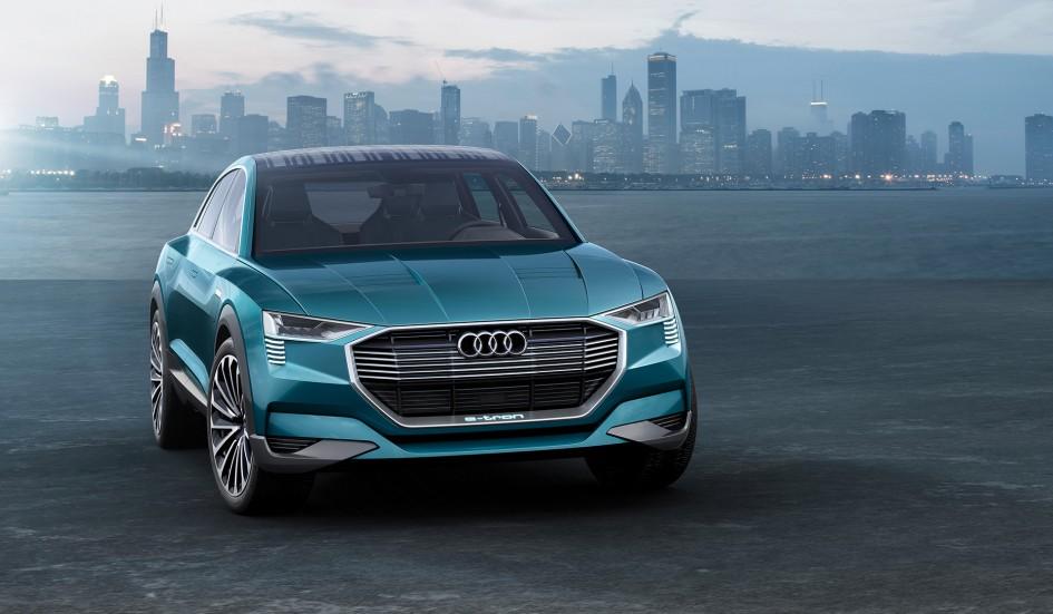 Audi e-tron quattro concept - 2016 - cover