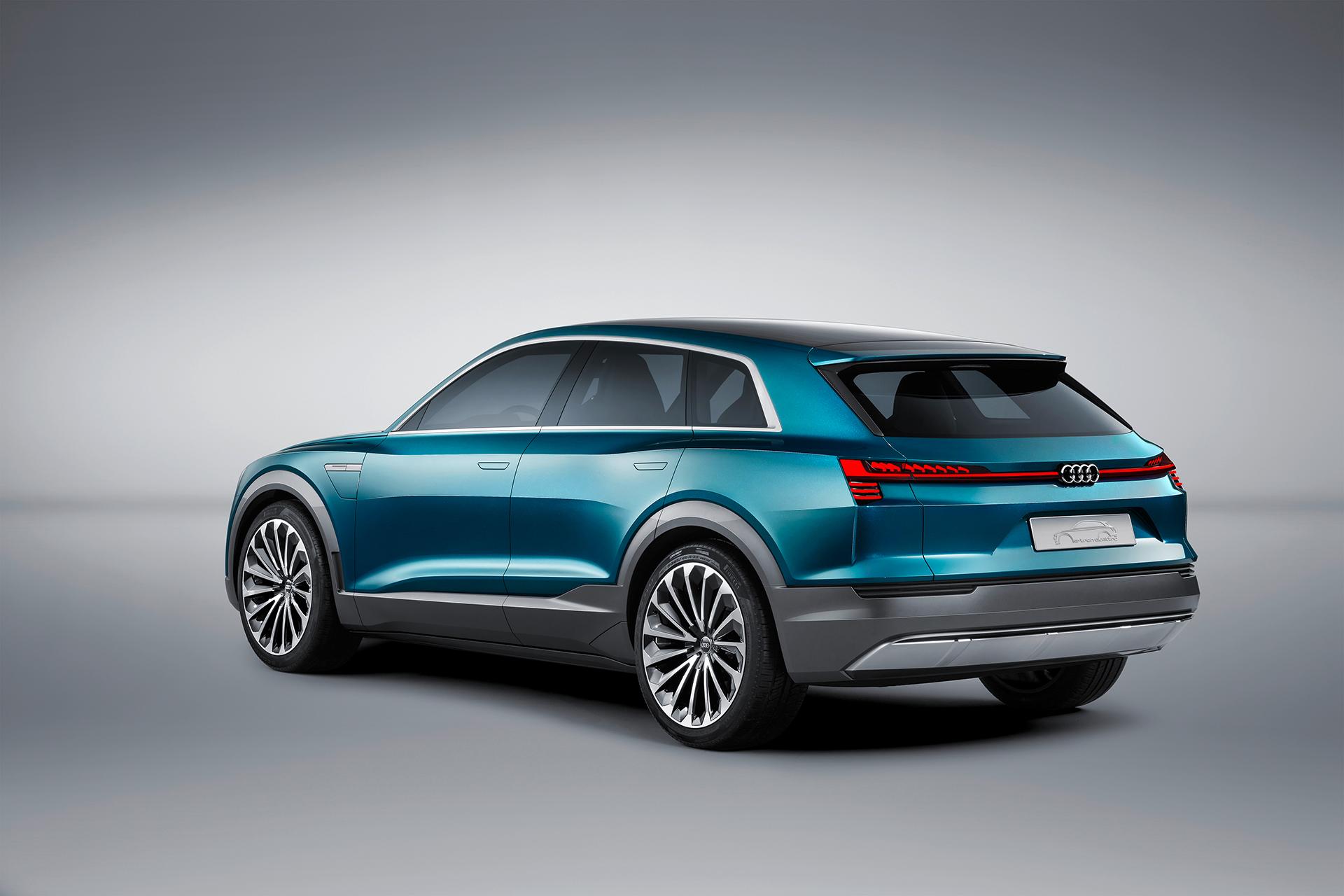 Audi e-tron quattro concept - 2016 - rear side-face / profil arrière