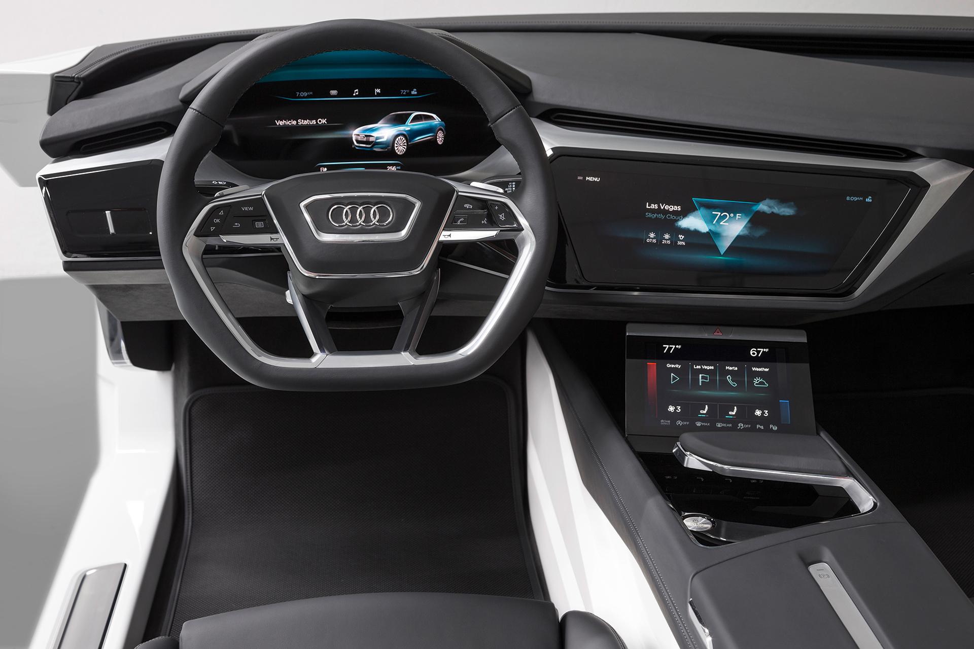 Audi e-tron quattro concept - CES 2016 - cockpit
