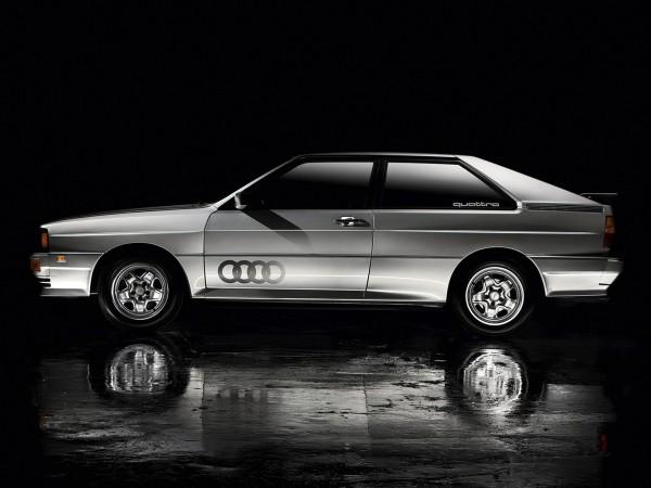 Audi quattro - 1980 - side-face / profil
