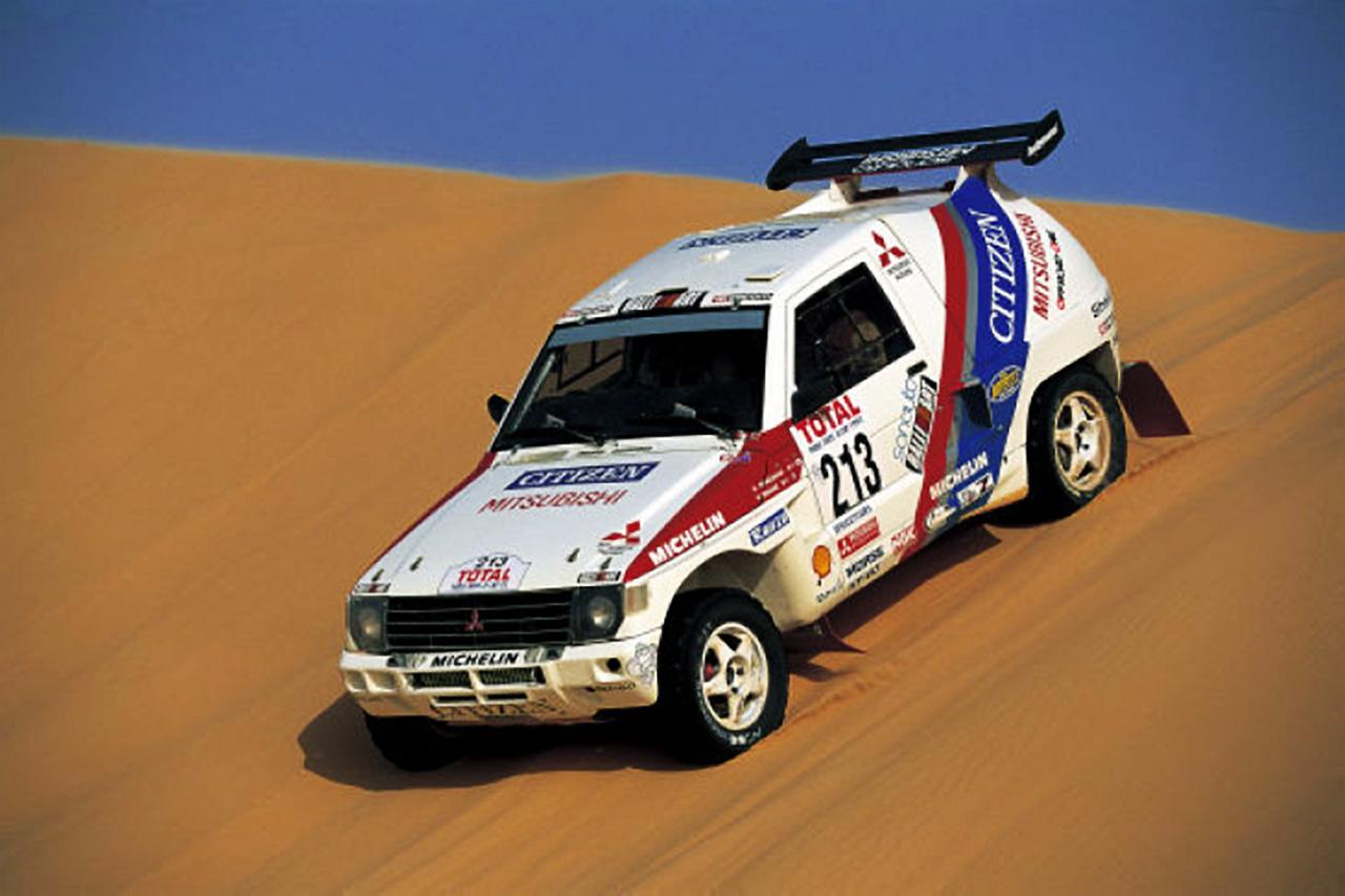 Auriol Monnet - Dakar 1992