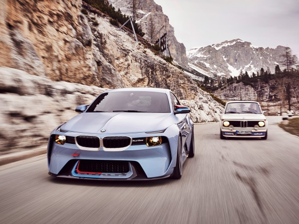 BMW 2002 Hommage - 2016 - front road - BMW 2002 Turbo