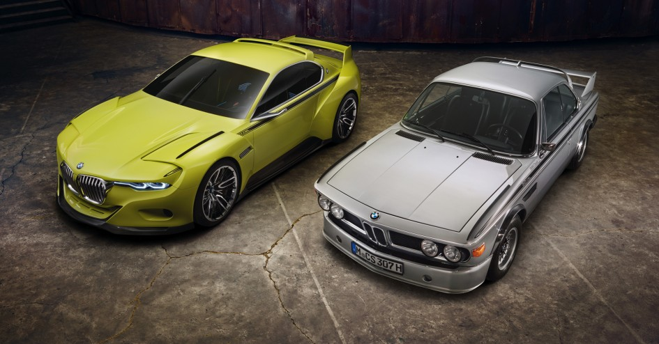 BMW 3.0 CSL Hommage & BMW 3.0 CS