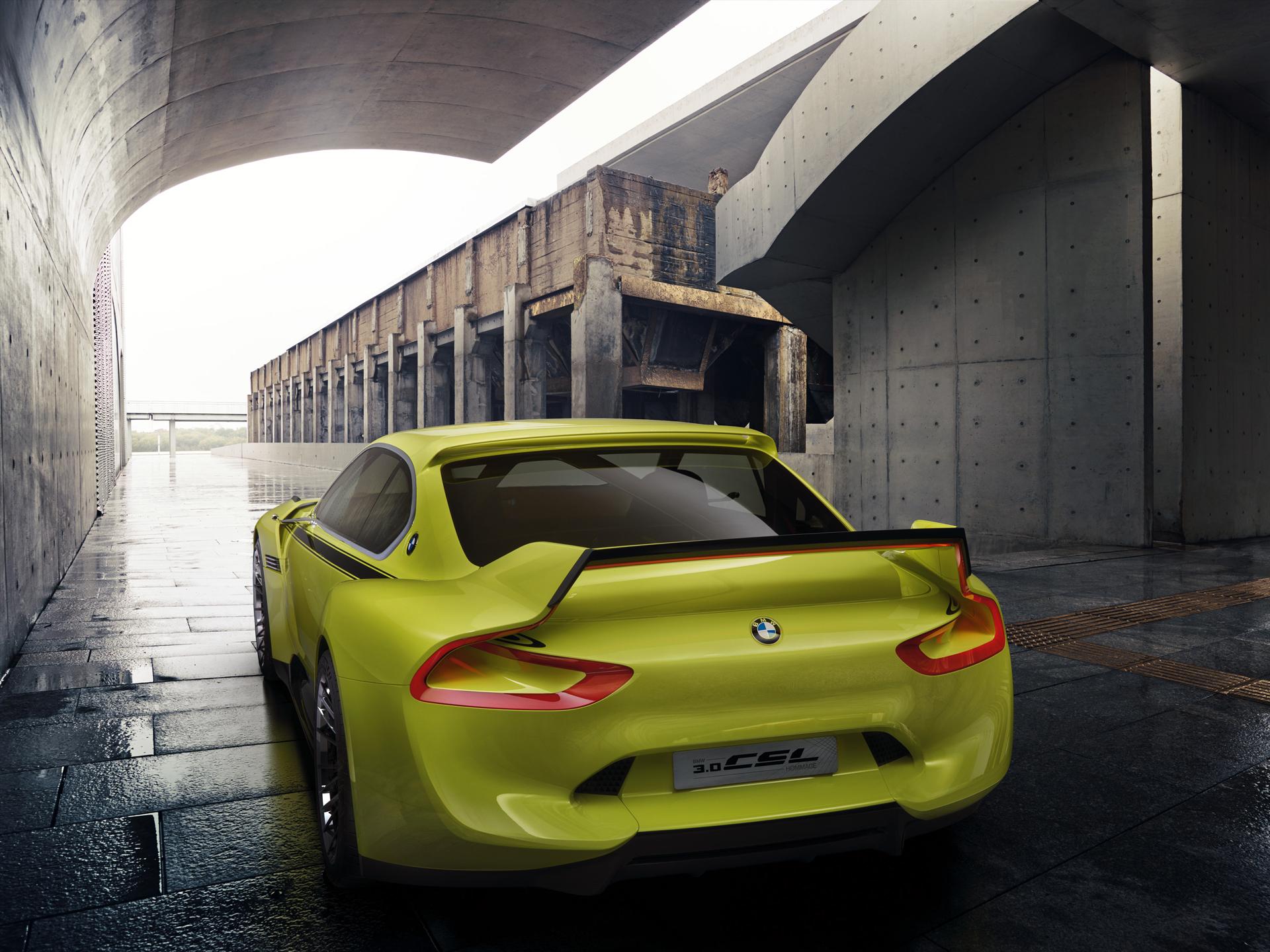 BMW 3.0 CSL Hommage - rear / arrière