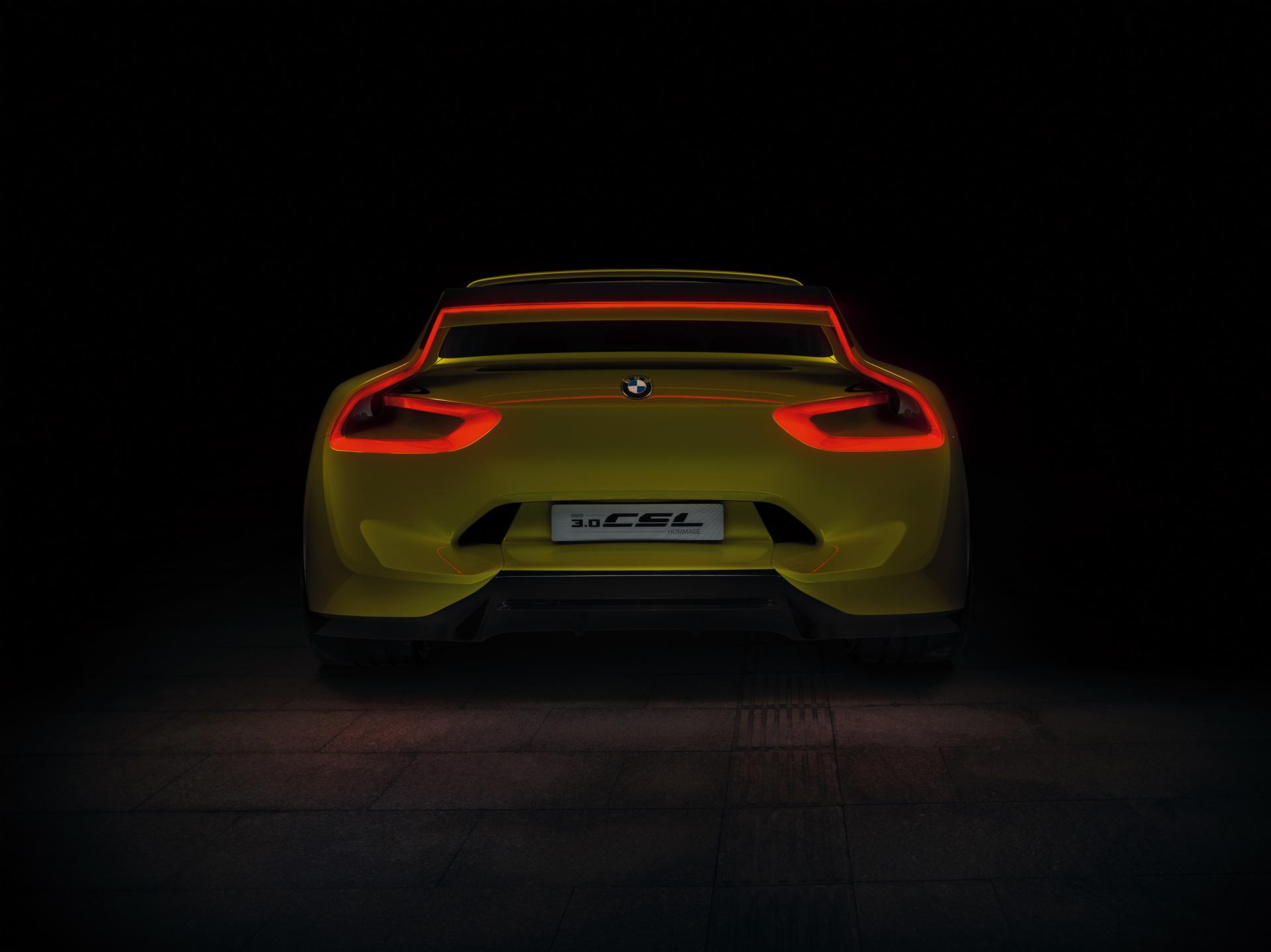 BMW 3.0 CSL Hommage - rear / face arrière