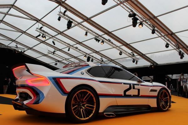 BMW 3.0 CSL Hommage - profil arrière / rear side-face - Exposition Concept cars 2016 - Arnaud Demasier RS Photographie