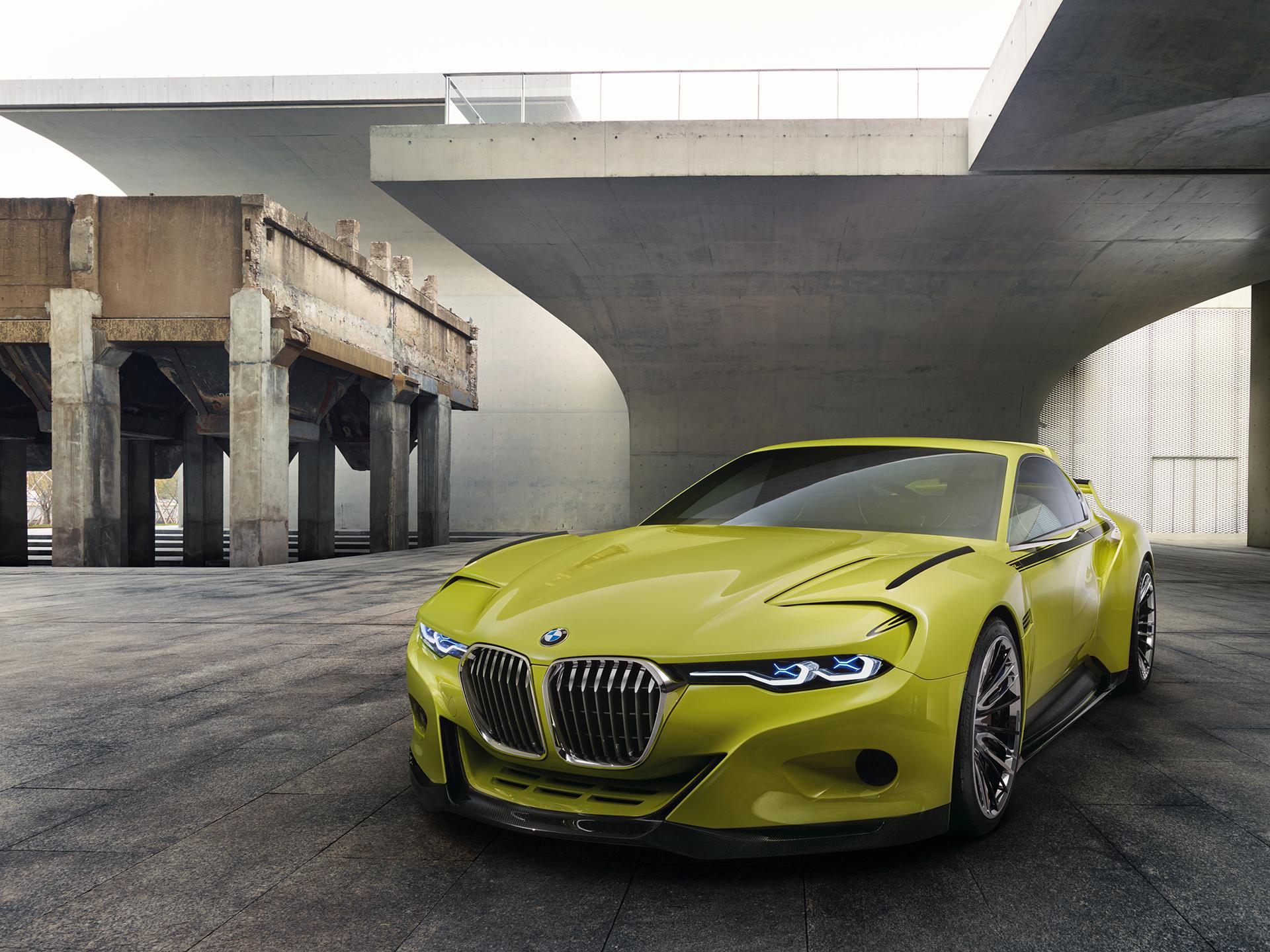 BMW 3.0 CSL Hommage - external front / avant extérieur