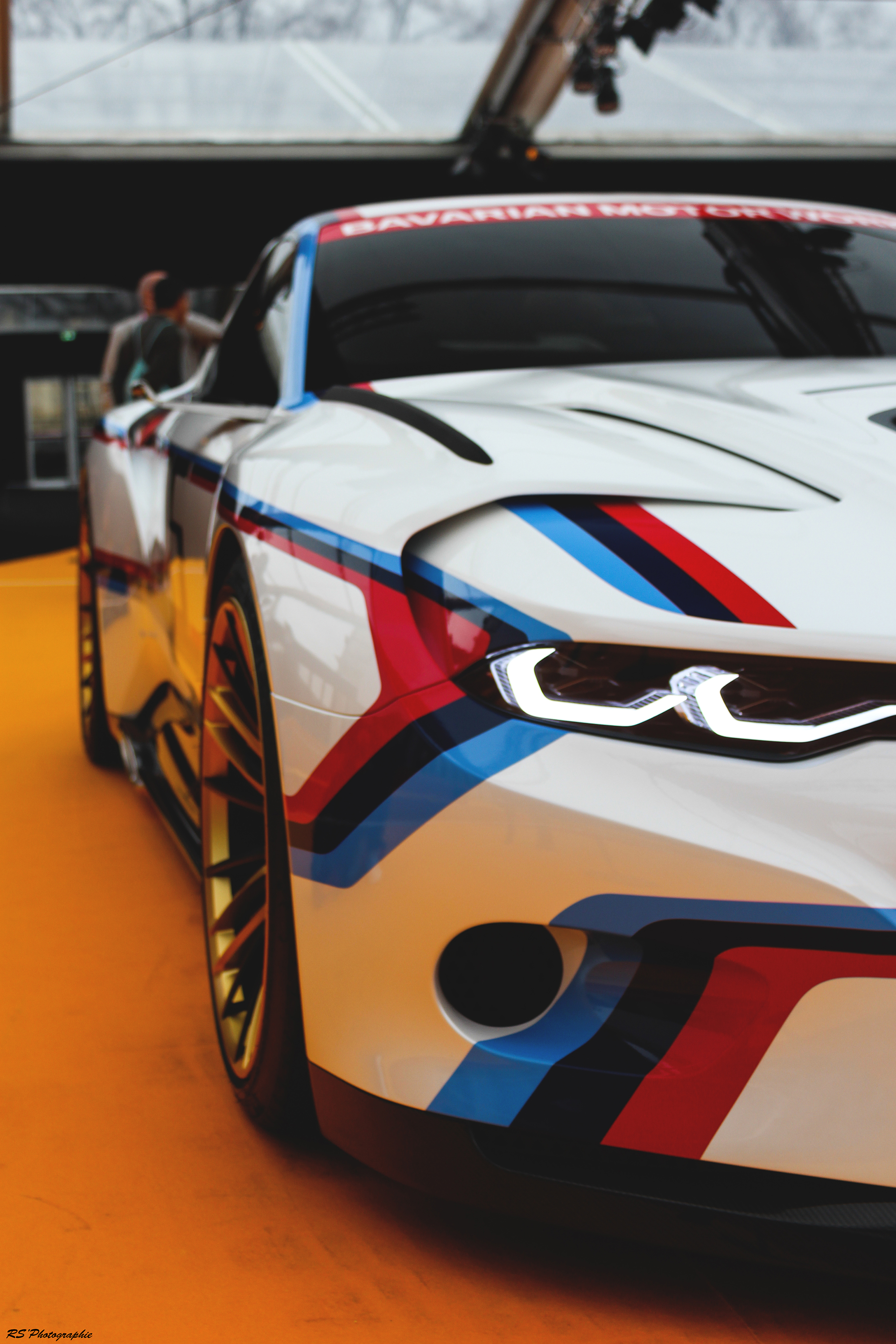 BMW 3.0 CSL Hommage - optique avant / front light - Exposition Concept cars 2016 - Arnaud Demasier RS Photographie