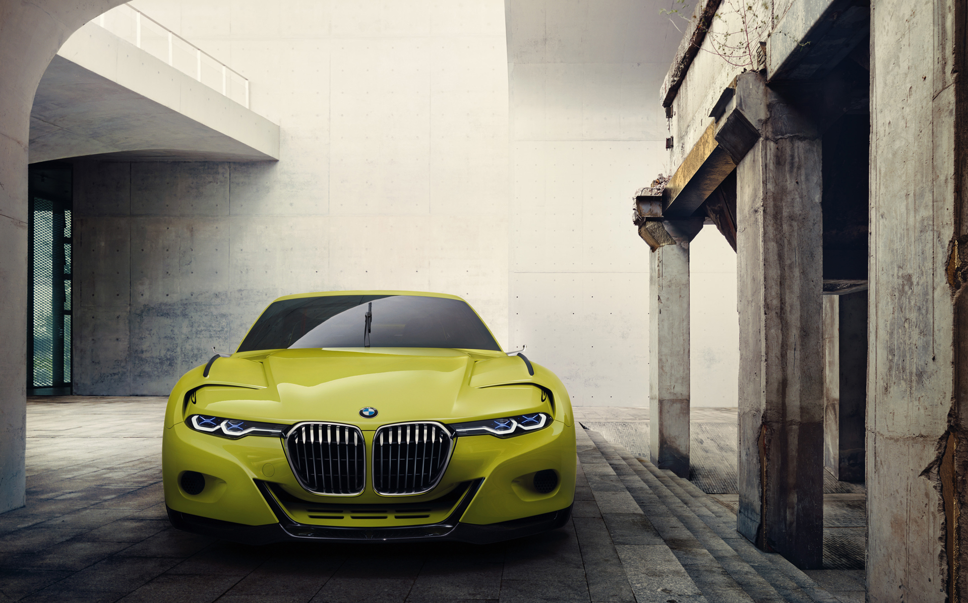 BMW 3.0 CSL Hommage - front-face/ face avant