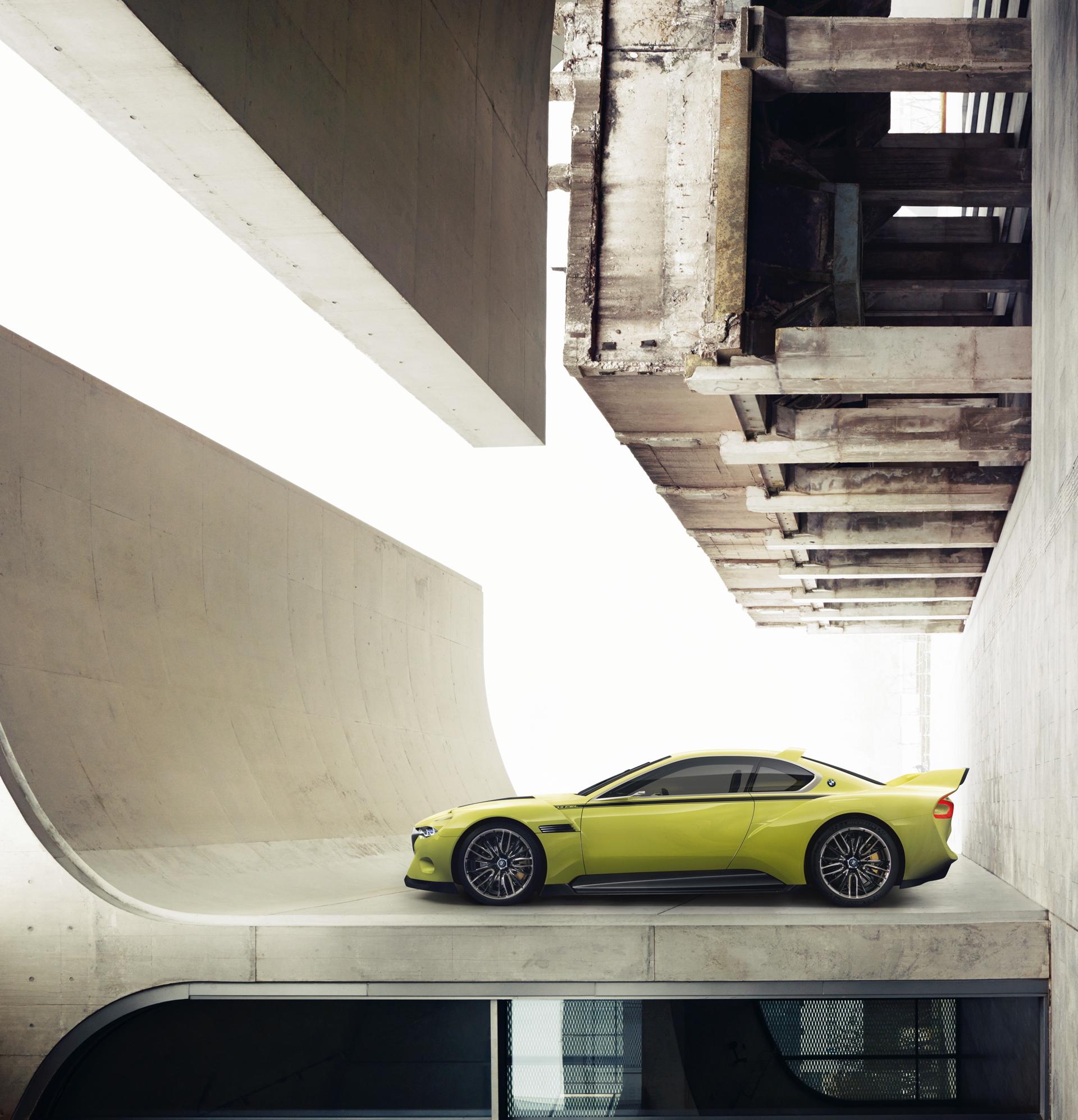 BMW 3.0 CSL Hommage - external side-face / profil extérieur