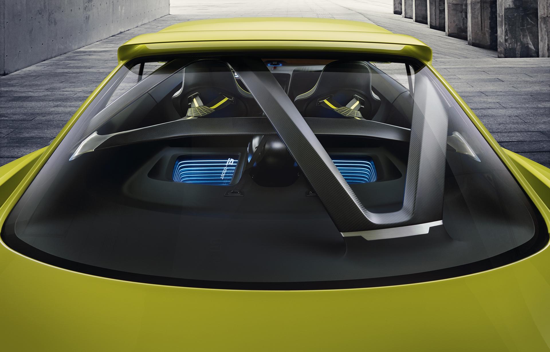 BMW 3.0 CSL Hommage - external rear top / arrière haut