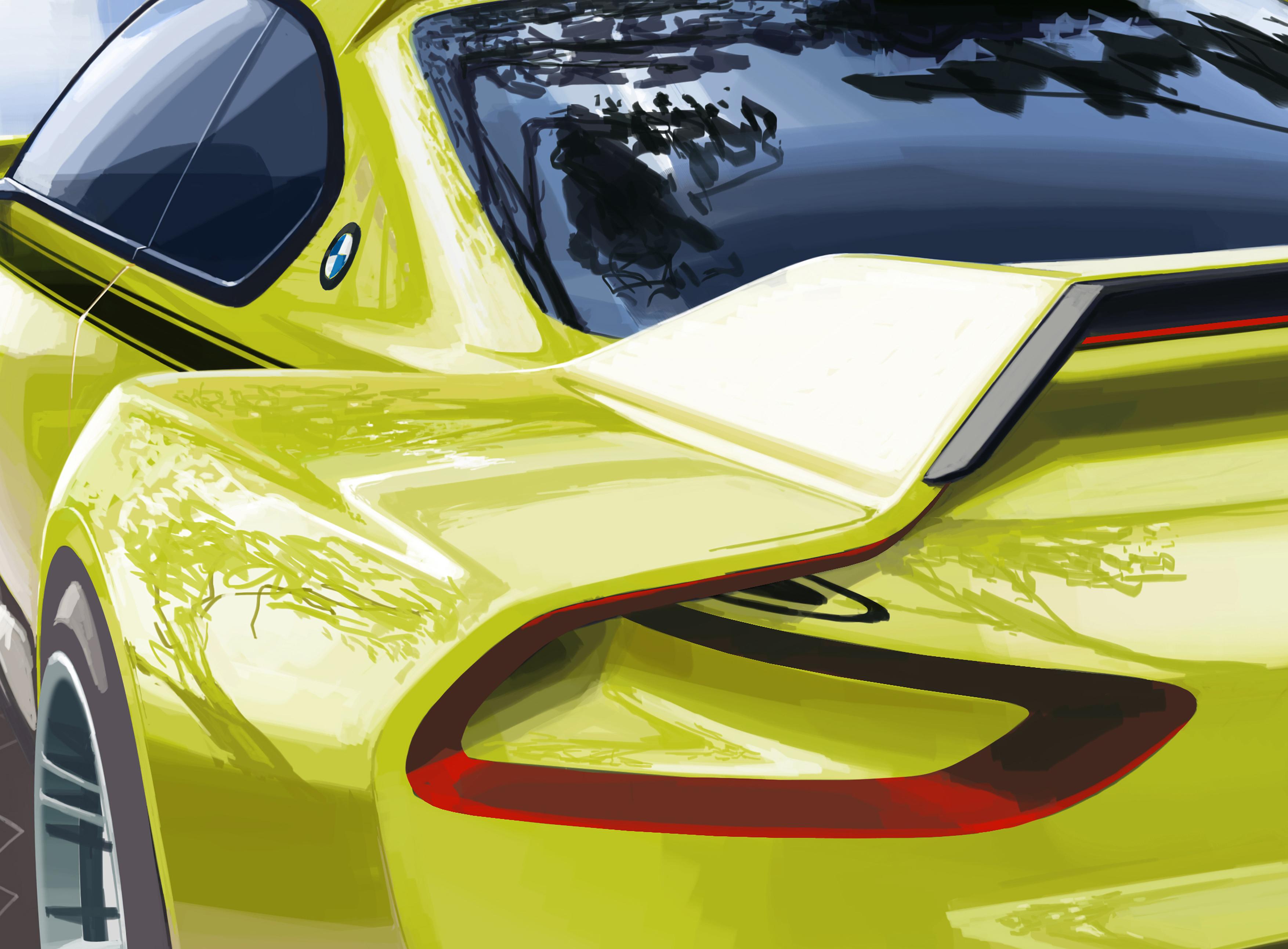 BMW 3.0 CSL Hommage - teaser