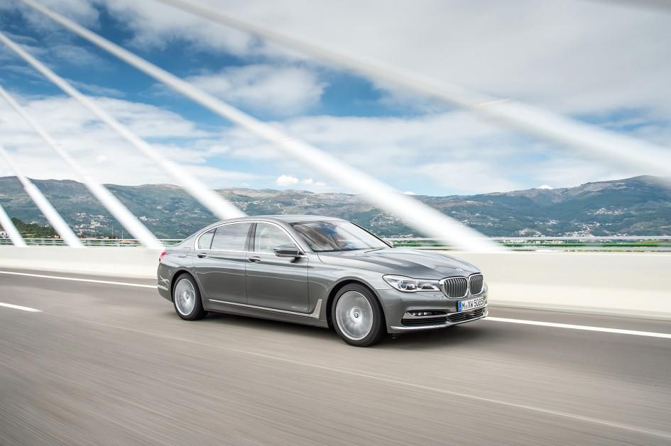 BMW 7serie - 2016 - front / avant