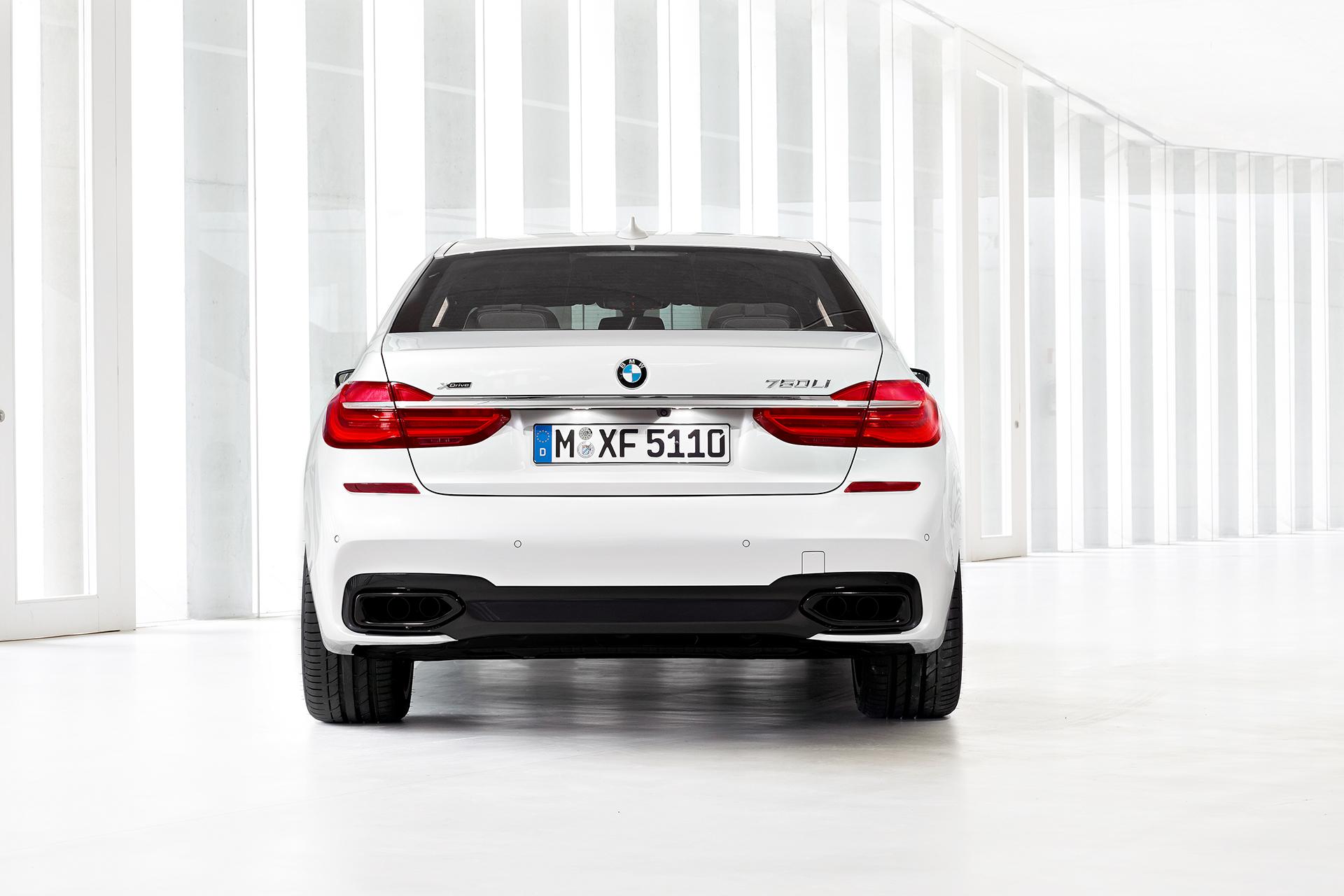 BMW 7 series - 2016 - arrière / rear