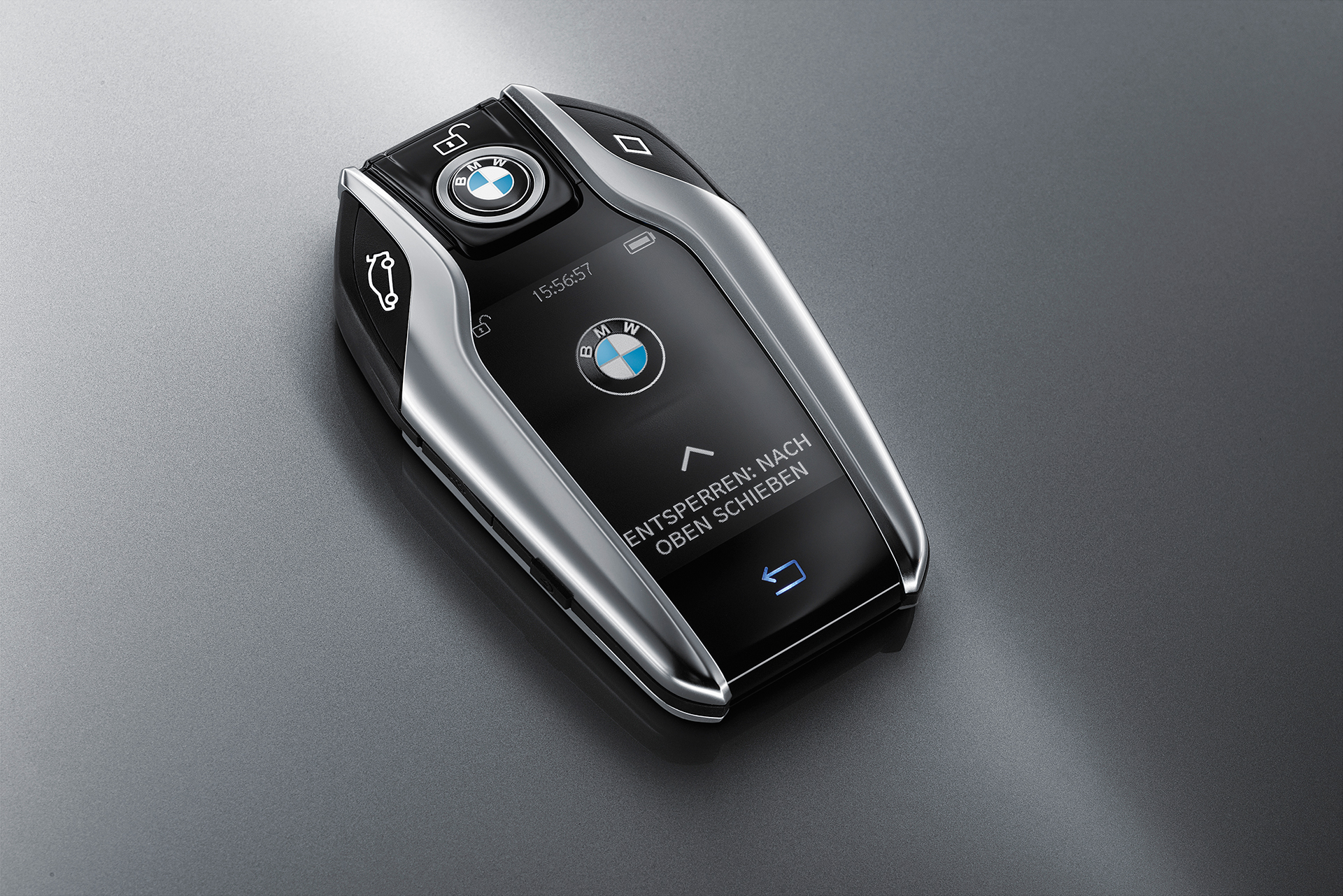 BMW 7 series - 2016 - clé de contact / ignition key