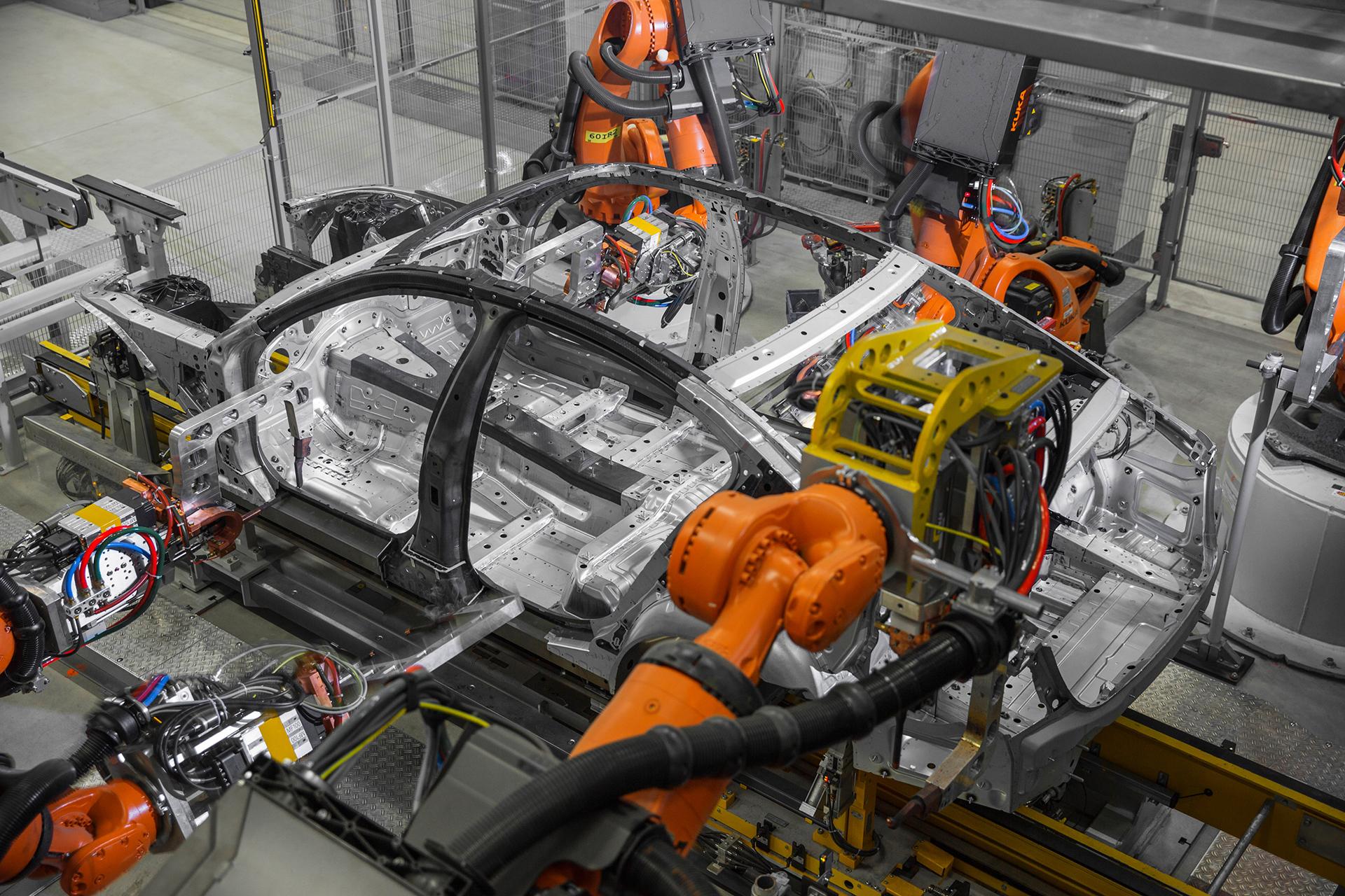 BMW 7 series - 2016 - usine / plant