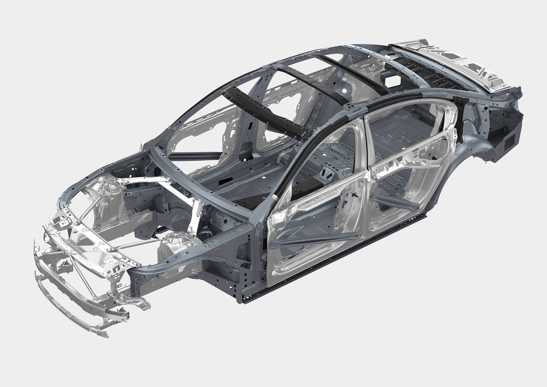 BMW 7 series - 2016 - structure