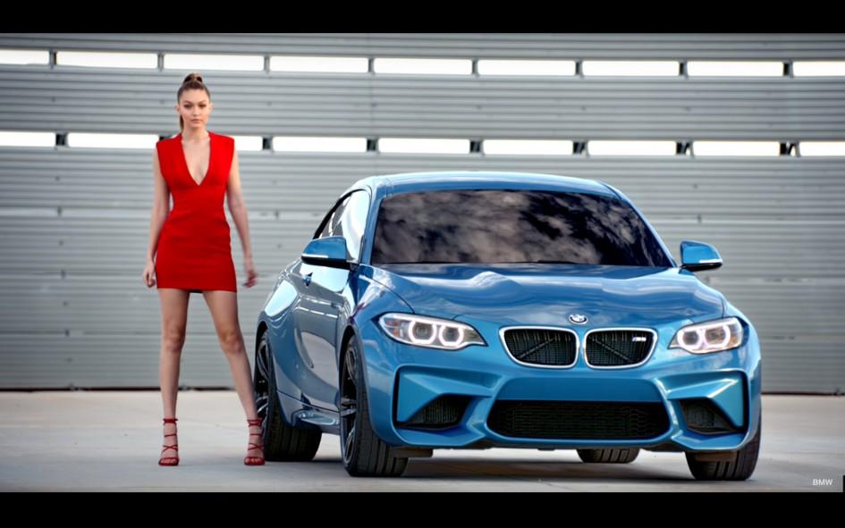 BMW featuring Gigi Hadid - 2016 - teaser
