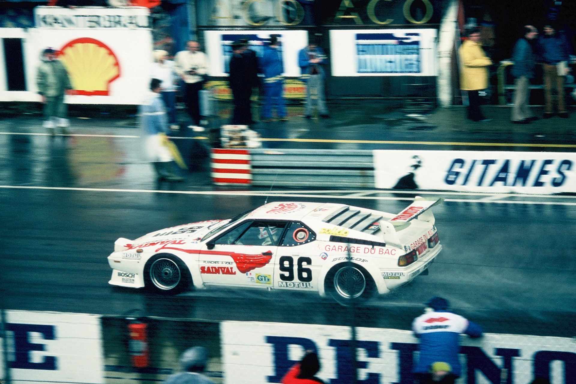 BMW M1 24 LM 1980 - Photo Thierry Le Bras