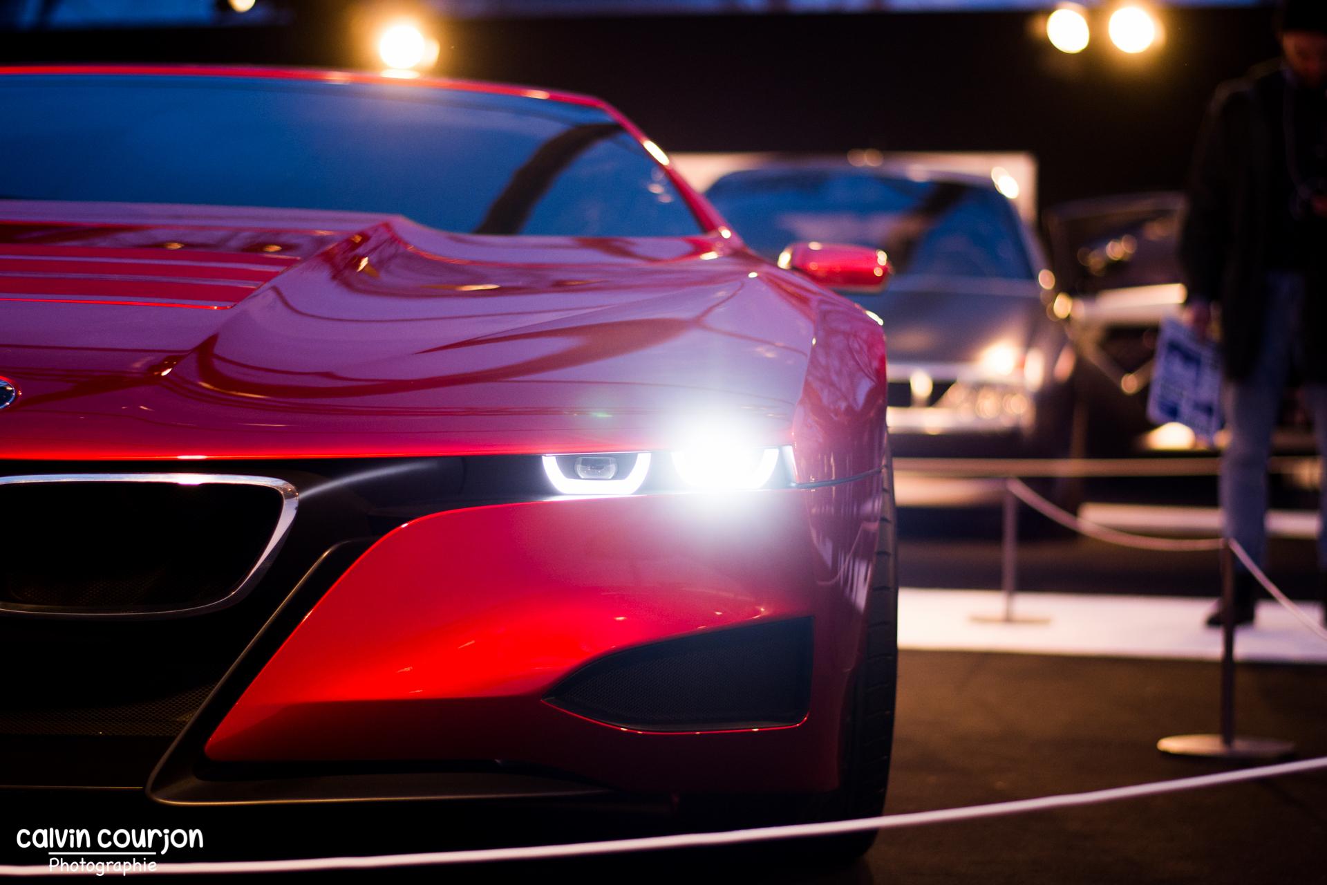 BMW M1 Hommage - avant - FAI 2015 - Paris - Calvin Courjon Photographie