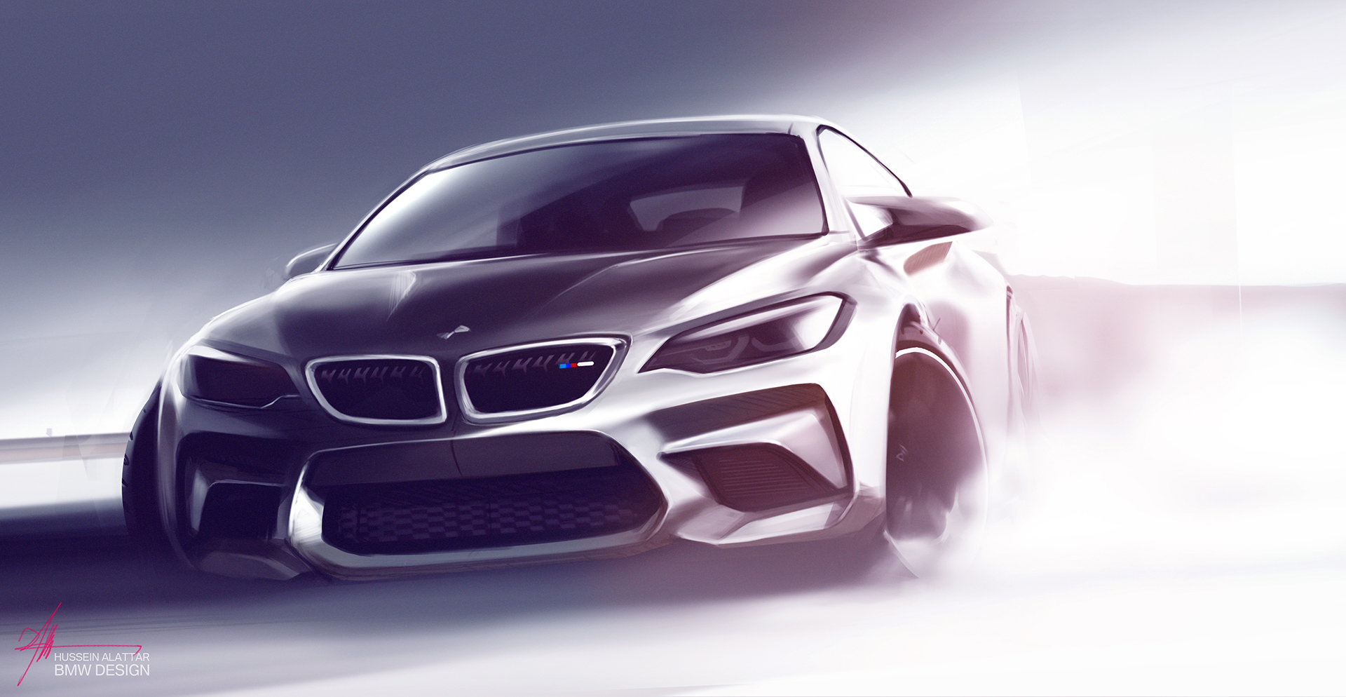 BMW M2 - 2016 - front design sketch