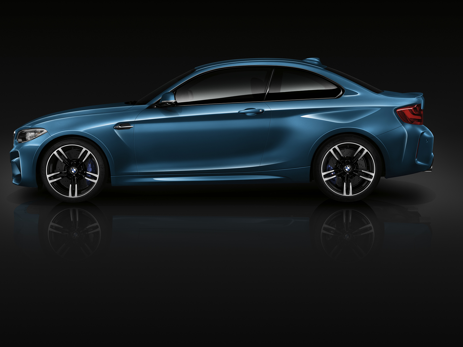 BMW M2 - 2016 - profil / side-face