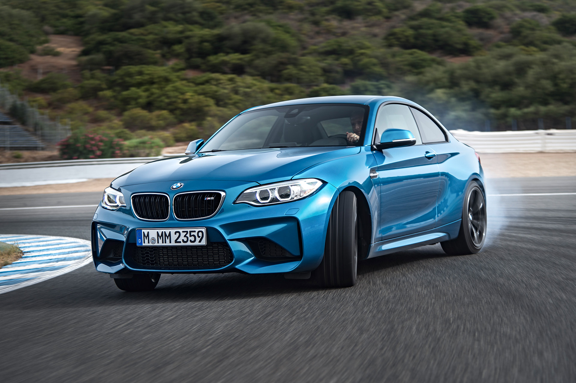 BMW M2 - 2016 - sur circuit / on track