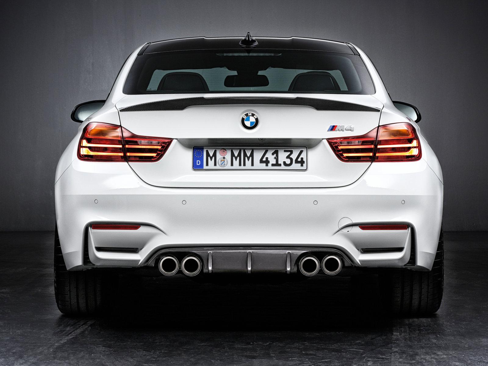 BMW M4 Coupe Performance - face arrière