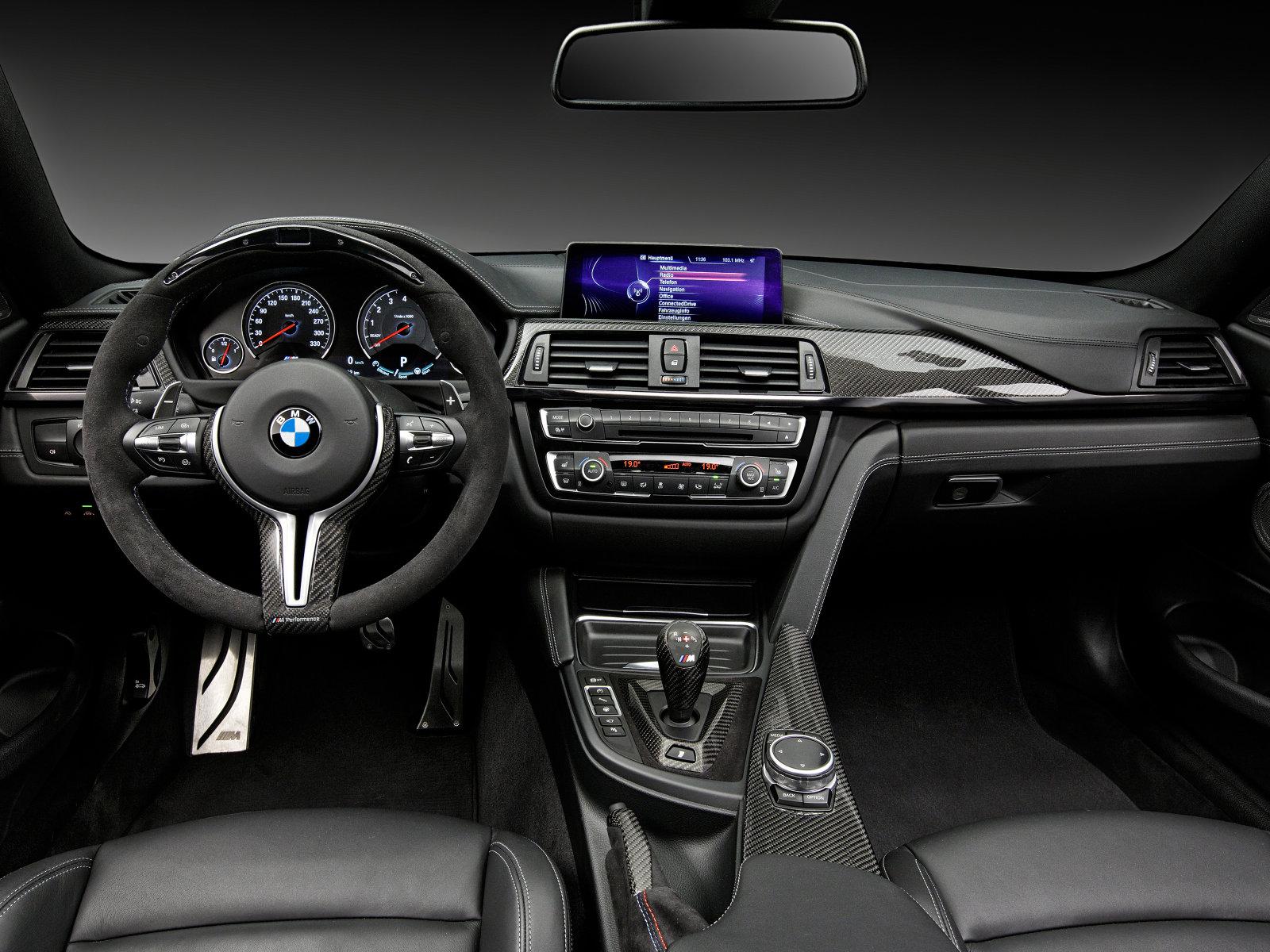 BMW M4 Coupe Performance - intérieur