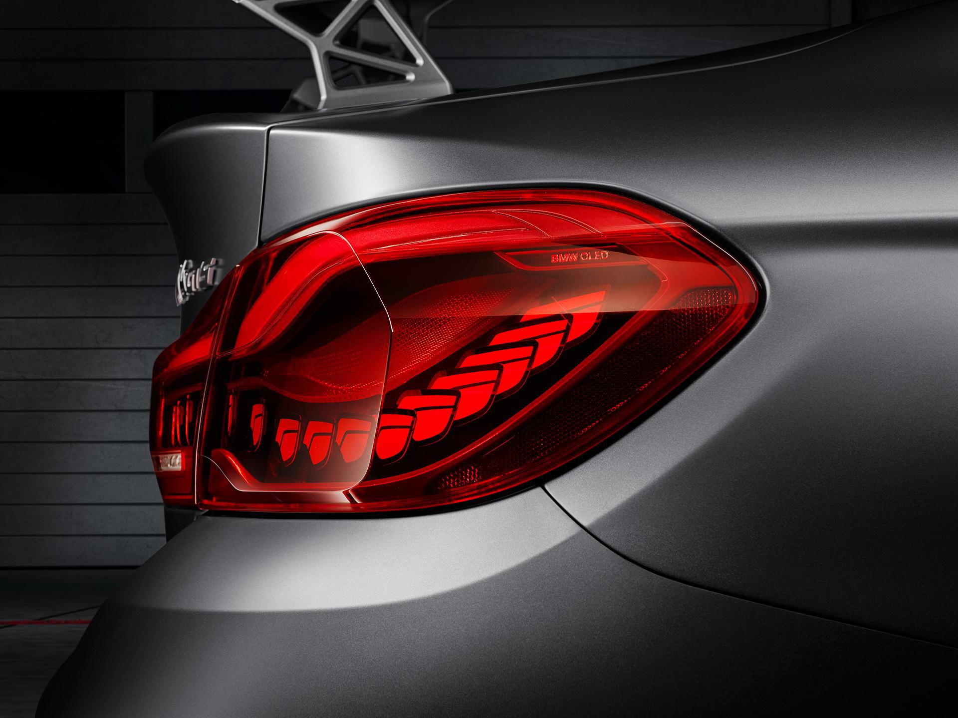 BMW M4 GTS - OLED arrière / rear OLED