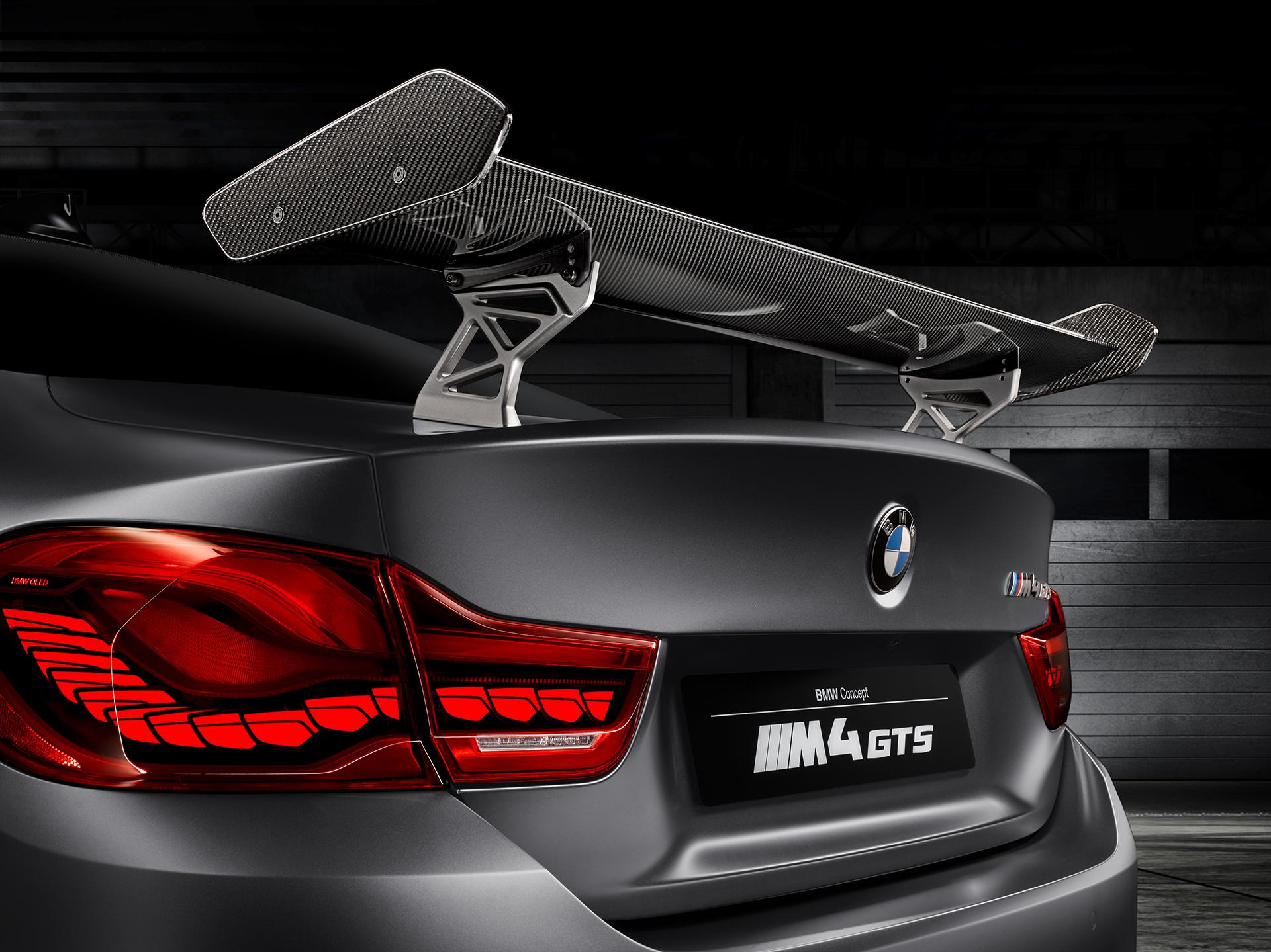 BMW M4 GTS - aileron arrière / rear wing