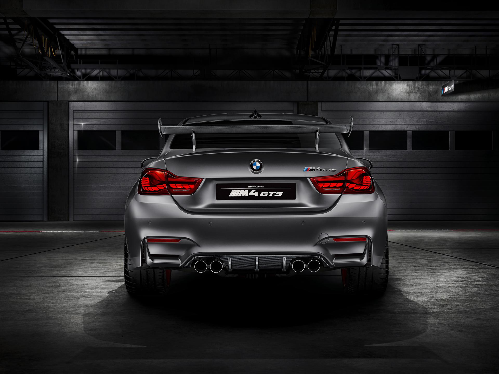 BMW M4 GTS - arrière / rear