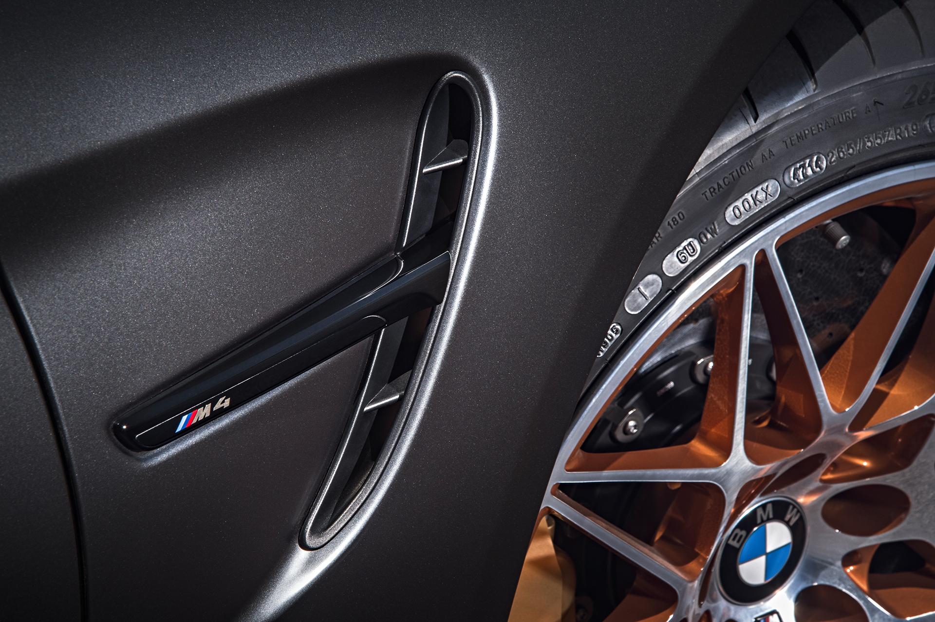 BMW M4 GTS - ouie latérale / air intake