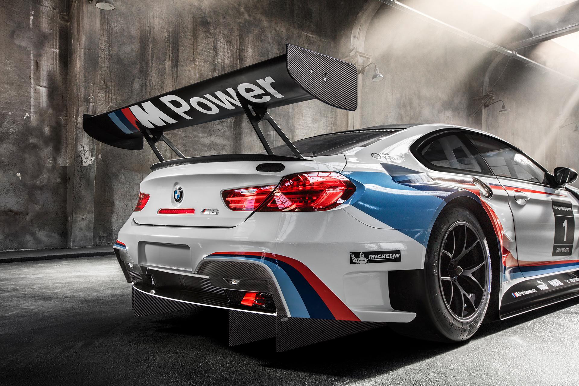 BMW M6 GT3 - 2016 - rear wing / aileron arrière