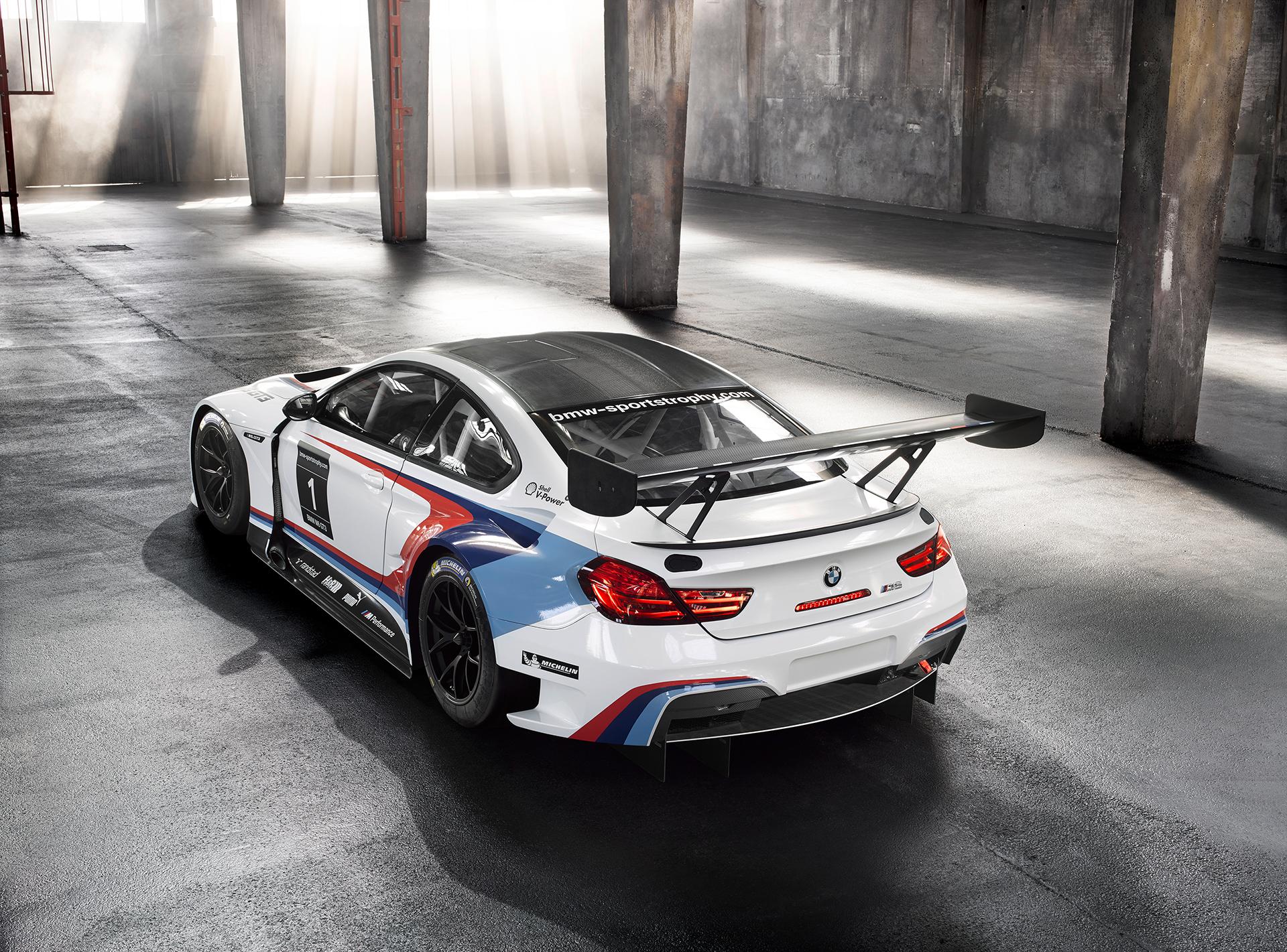 BMW M6 GT3 - 2016 - top rear side-face / toit profil arrière