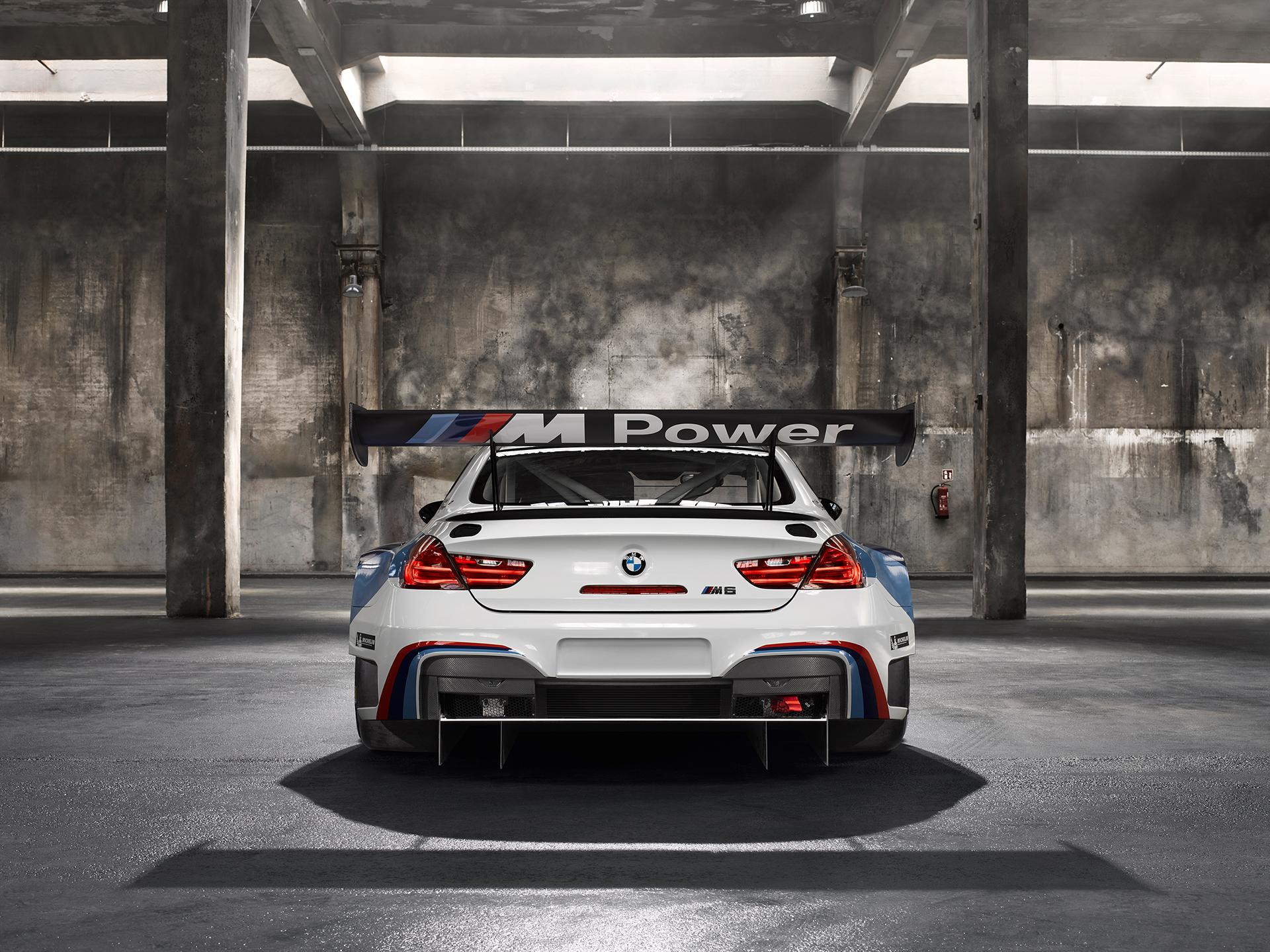 BMW M6 GT3 - 2016 - rear / arrière