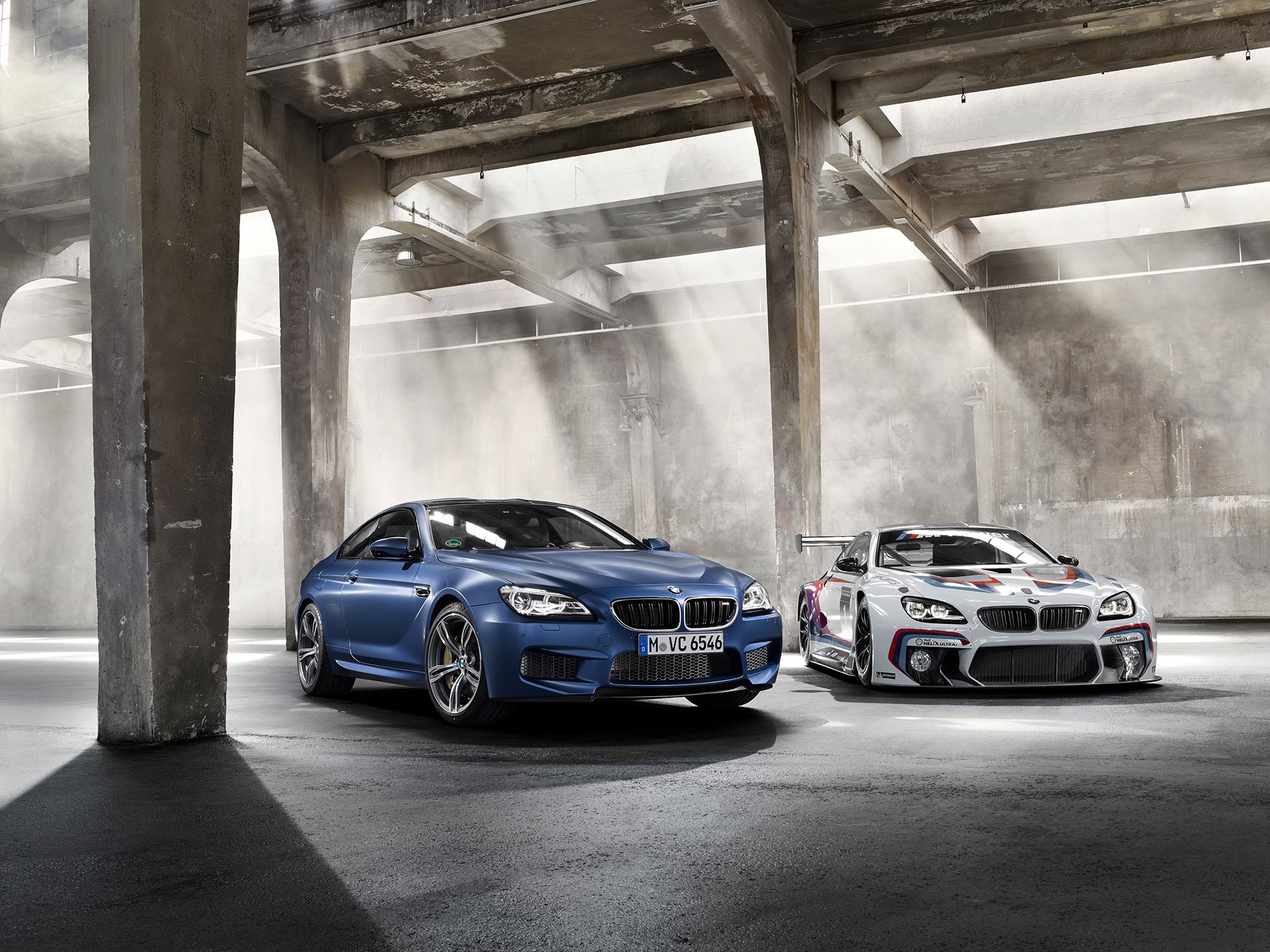 BMW M6 GT3 - 2016 - front / avant - 2015 BMW M6