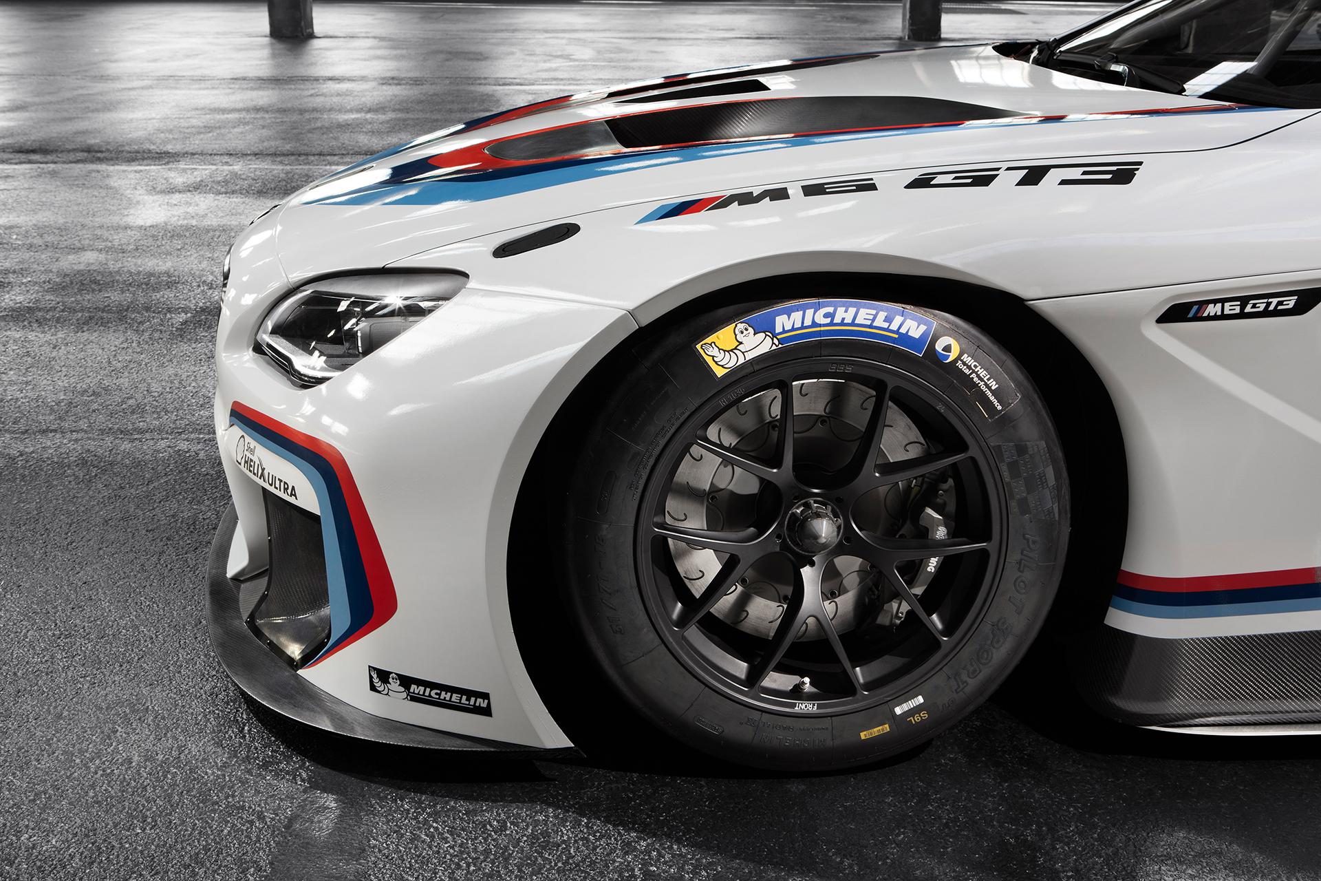 BMW M6 GT3 - 2016 - front wheel / roue avant