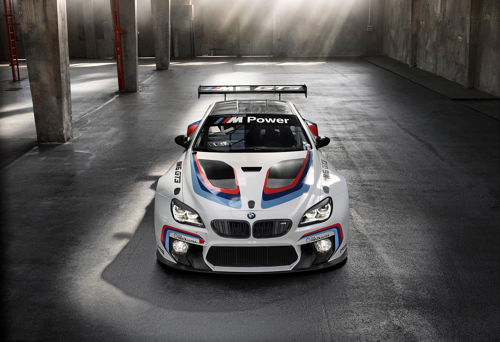 BMW M6 GT3 - 2016 - top front / toit avant