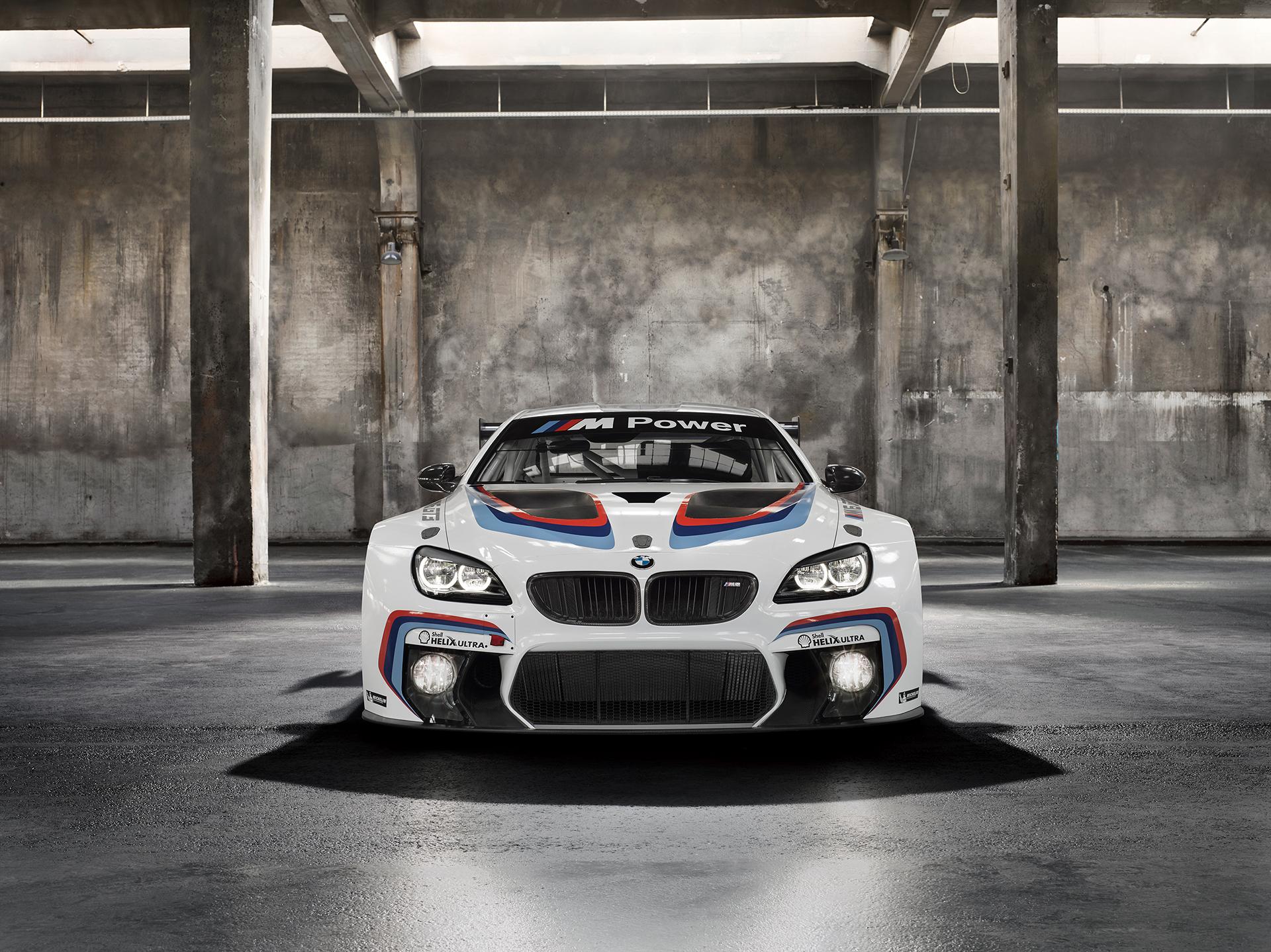 BMW M6 GT3 - 2016 - front / avant