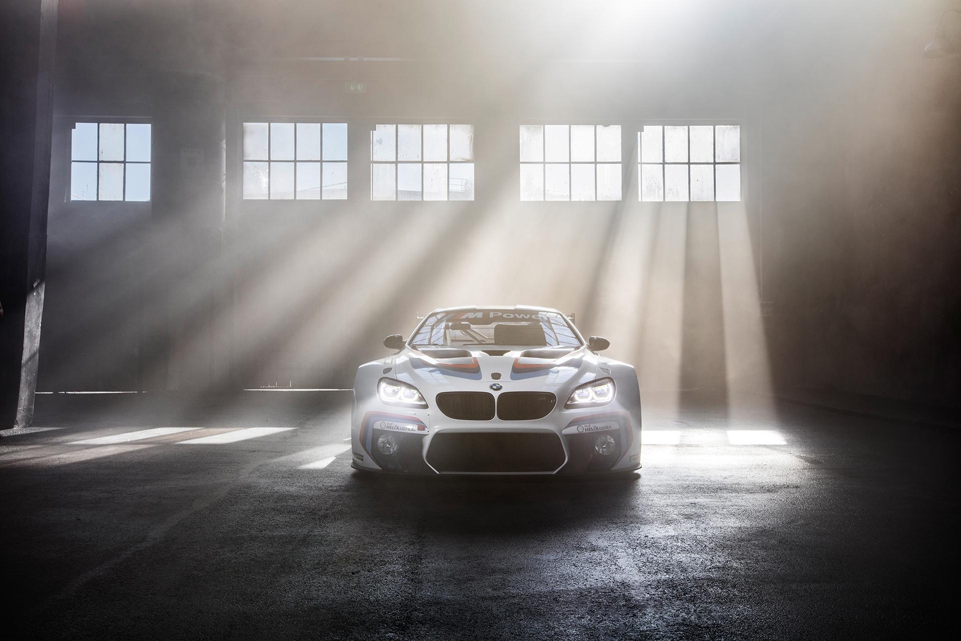 BMW M6 GT3 - 2016 - photo - front / avant