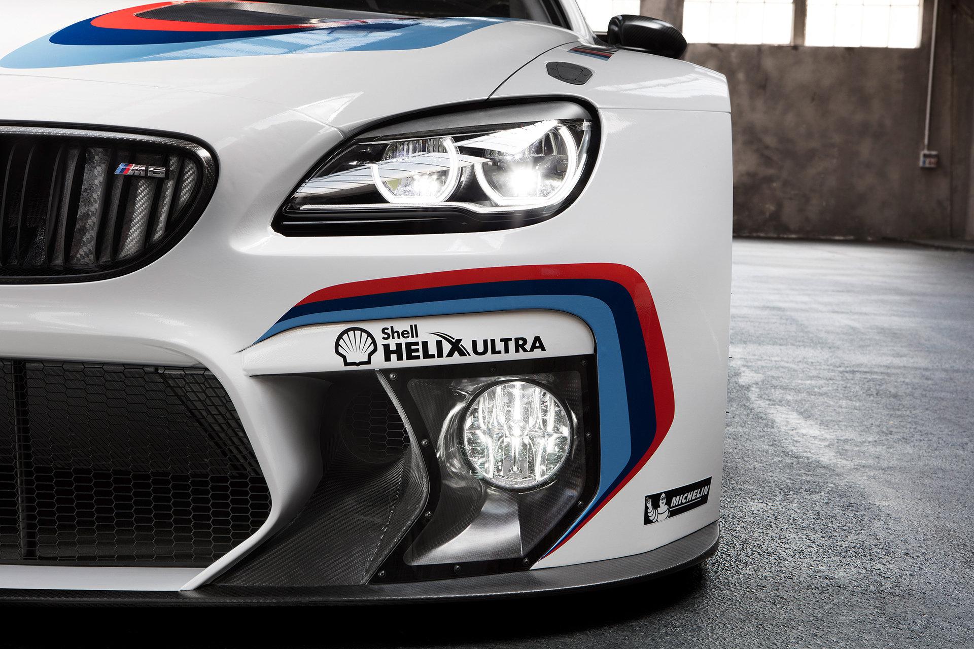 BMW M6 GT3 - 2016 - front light / optique avant