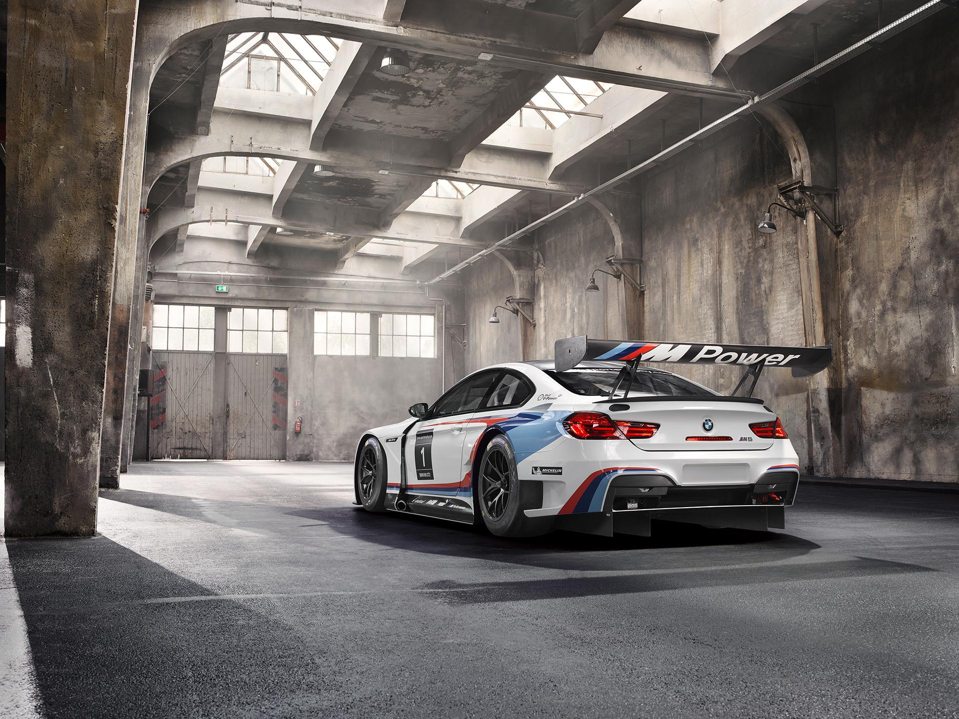 BMW M6 GT3 - 2016 - rear side-face / profil arrière