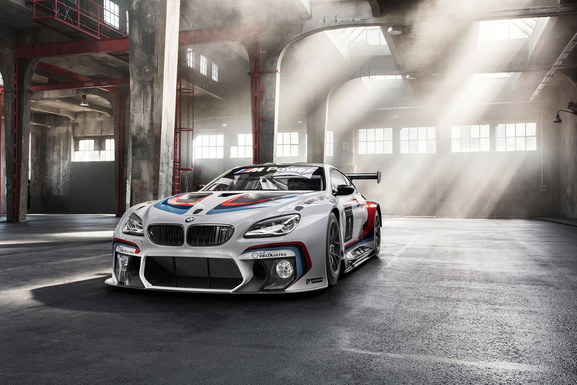 BMW M6 GT3 - 2016 - front side-face / profil avant